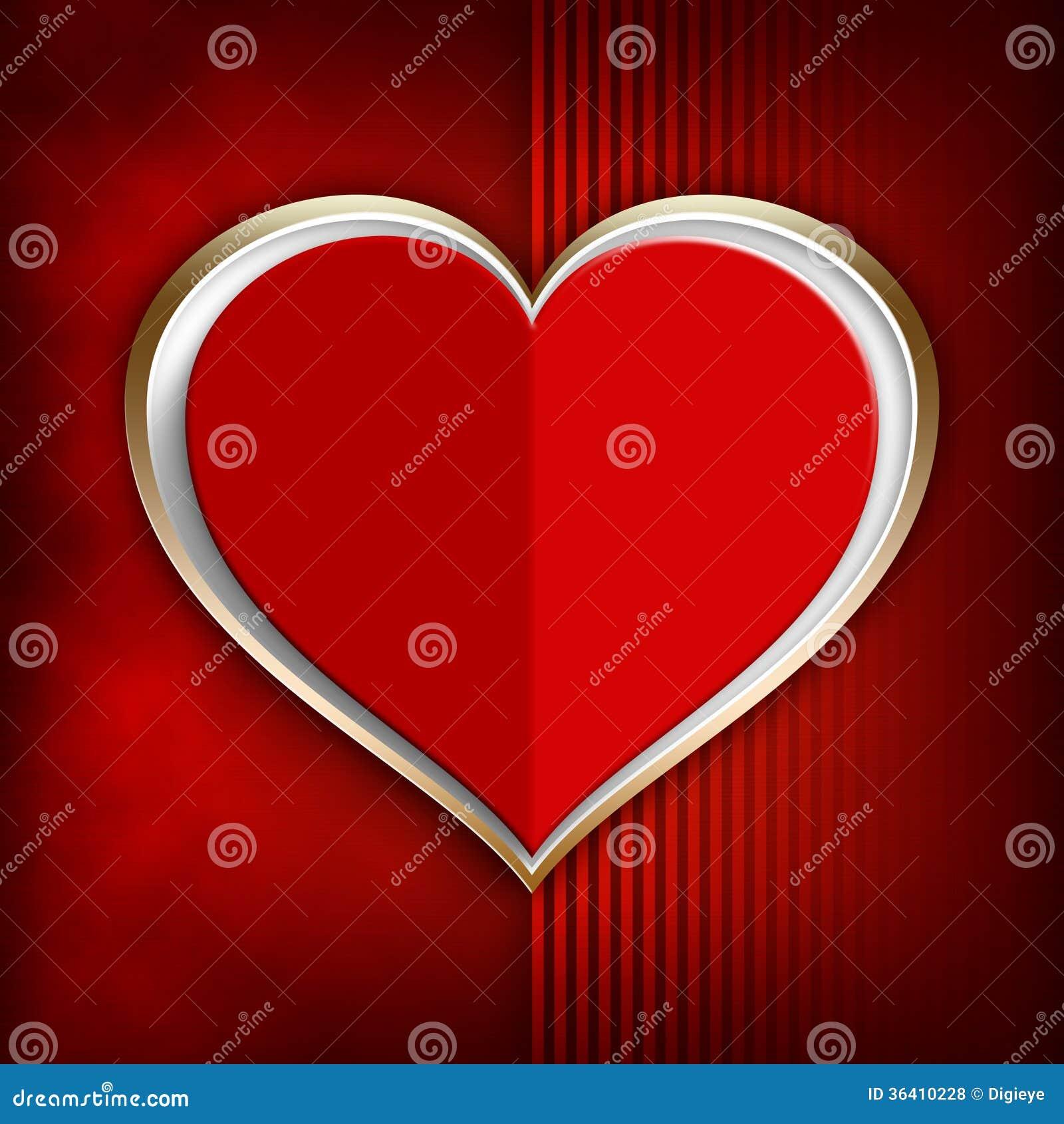 Valentine heureux - calibre de fond