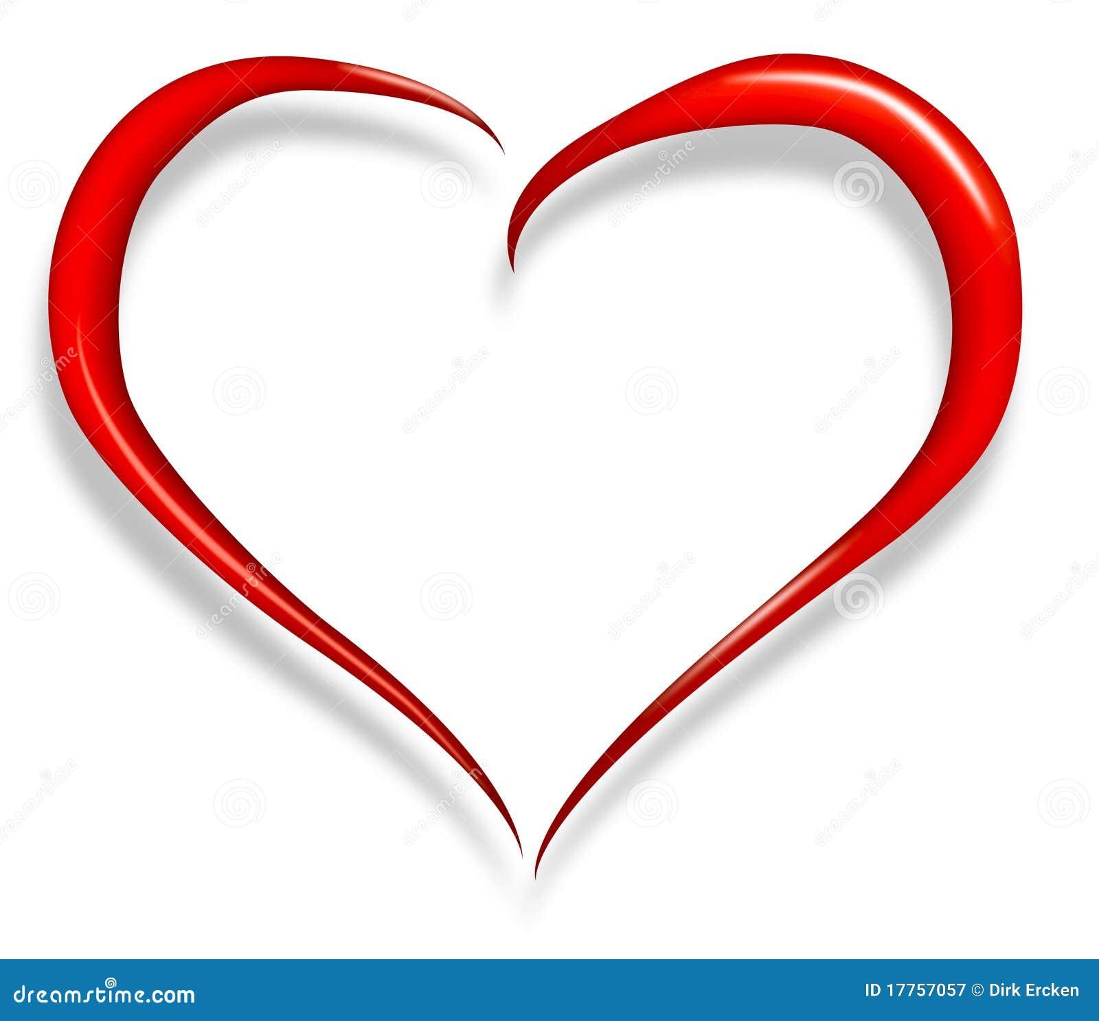 Valentine heureux de coeur d 39 amour illustration stock illustration du illustration r seau - Ceour d amour ...