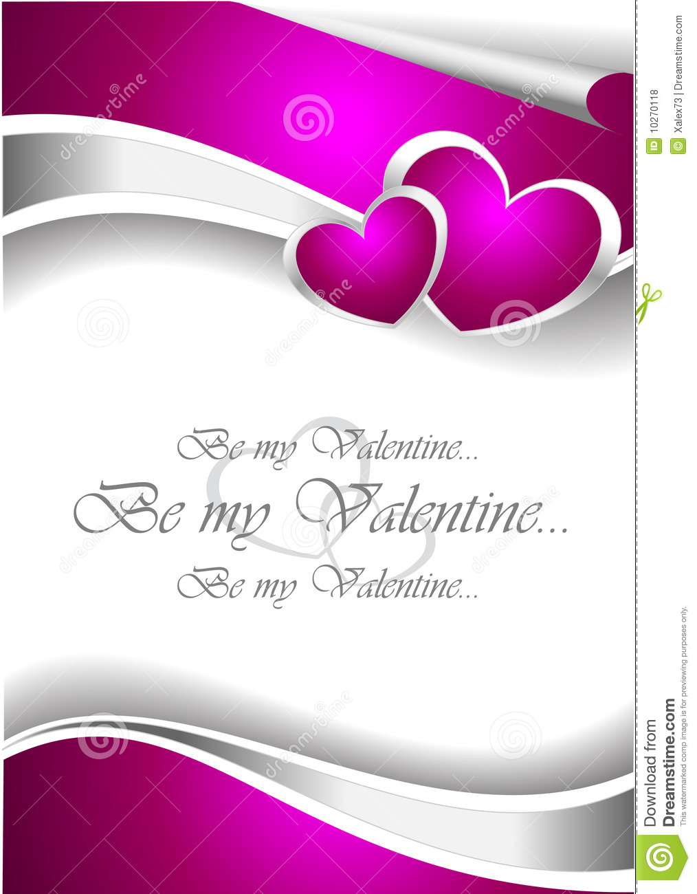 Valentine invitation card stock vector illustration of greeting valentine invitation card stopboris Image collections
