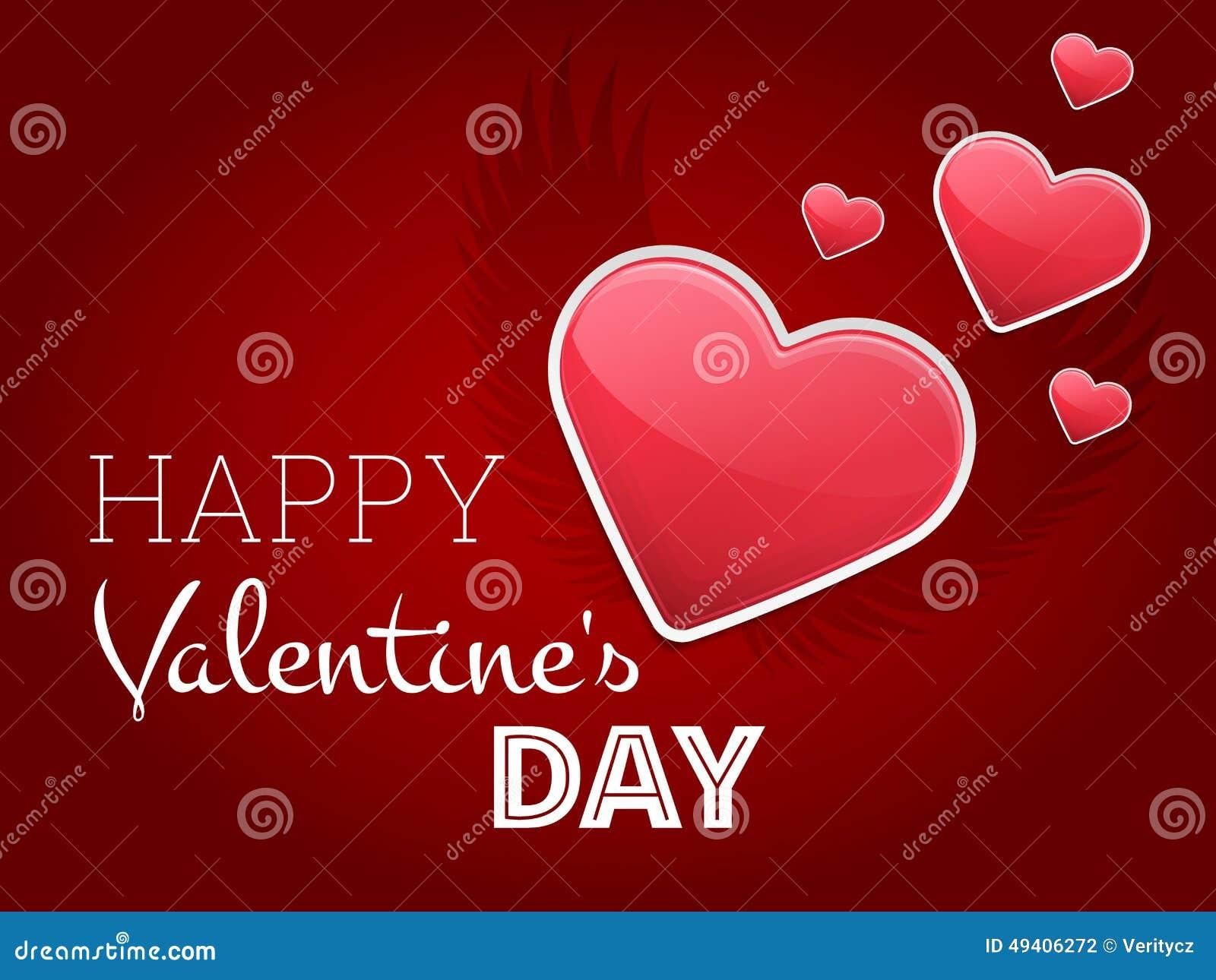 Download Valentine Love Background vektor abbildung. Illustration von schönheit - 49406272
