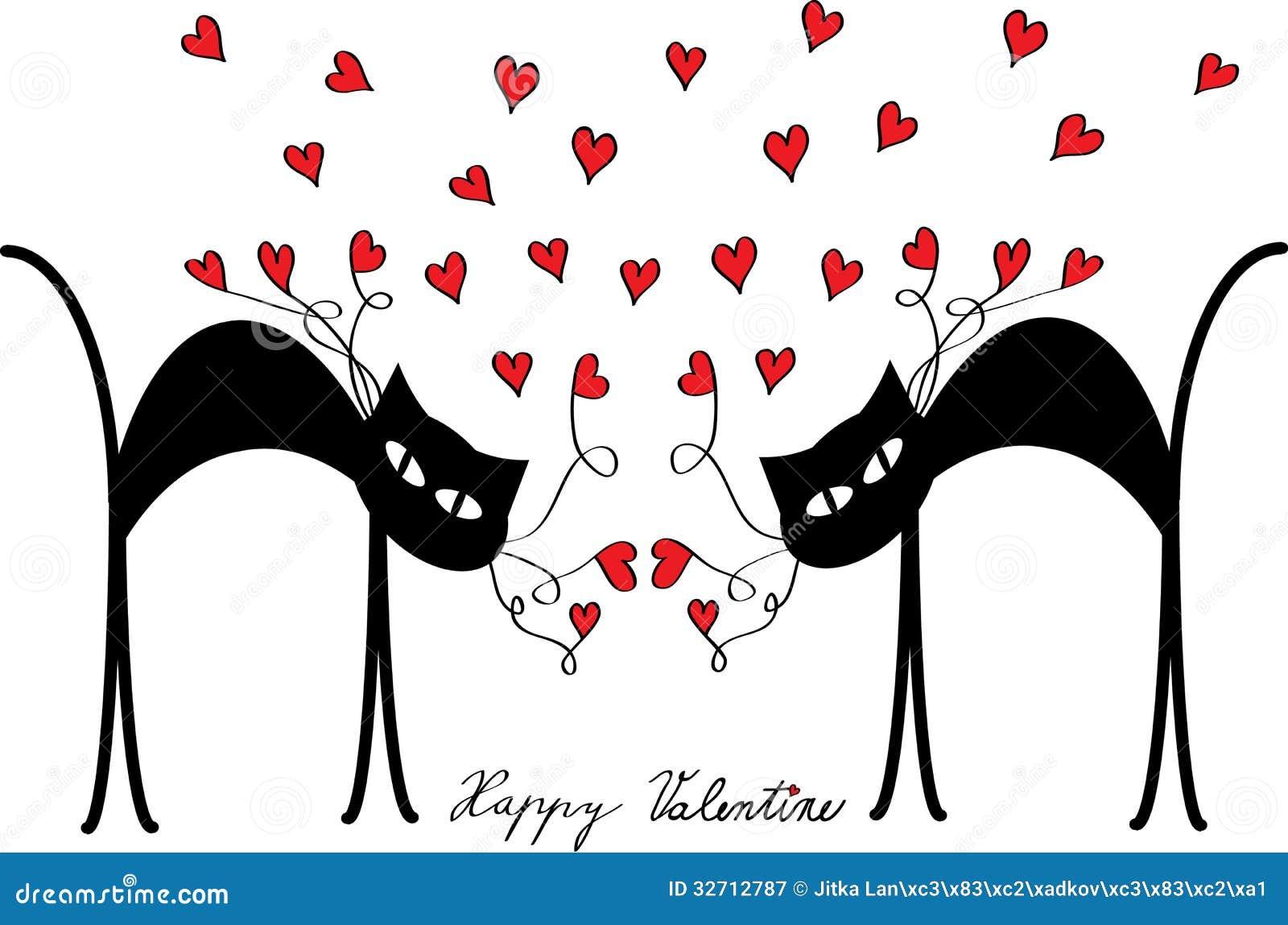 Resultado de imagen de valentines cat flowers valentines