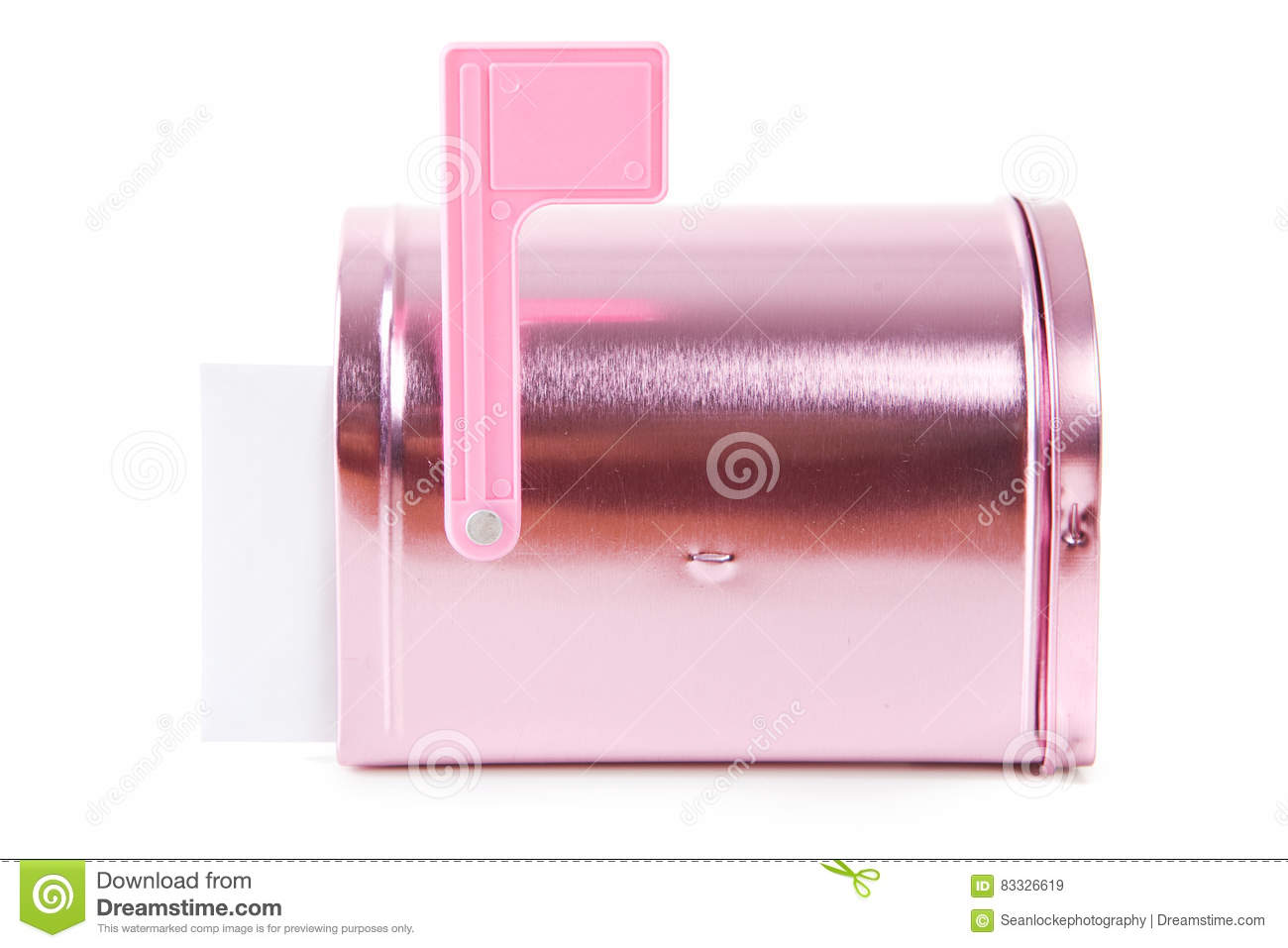 mailbox flag up.  Mailbox Download Valentines Closed Pink Mailbox With Flag Up Stock Image   Of Intended C