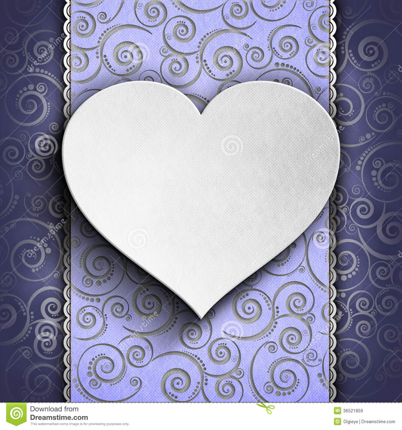Valentine s Day background - Greeting card template