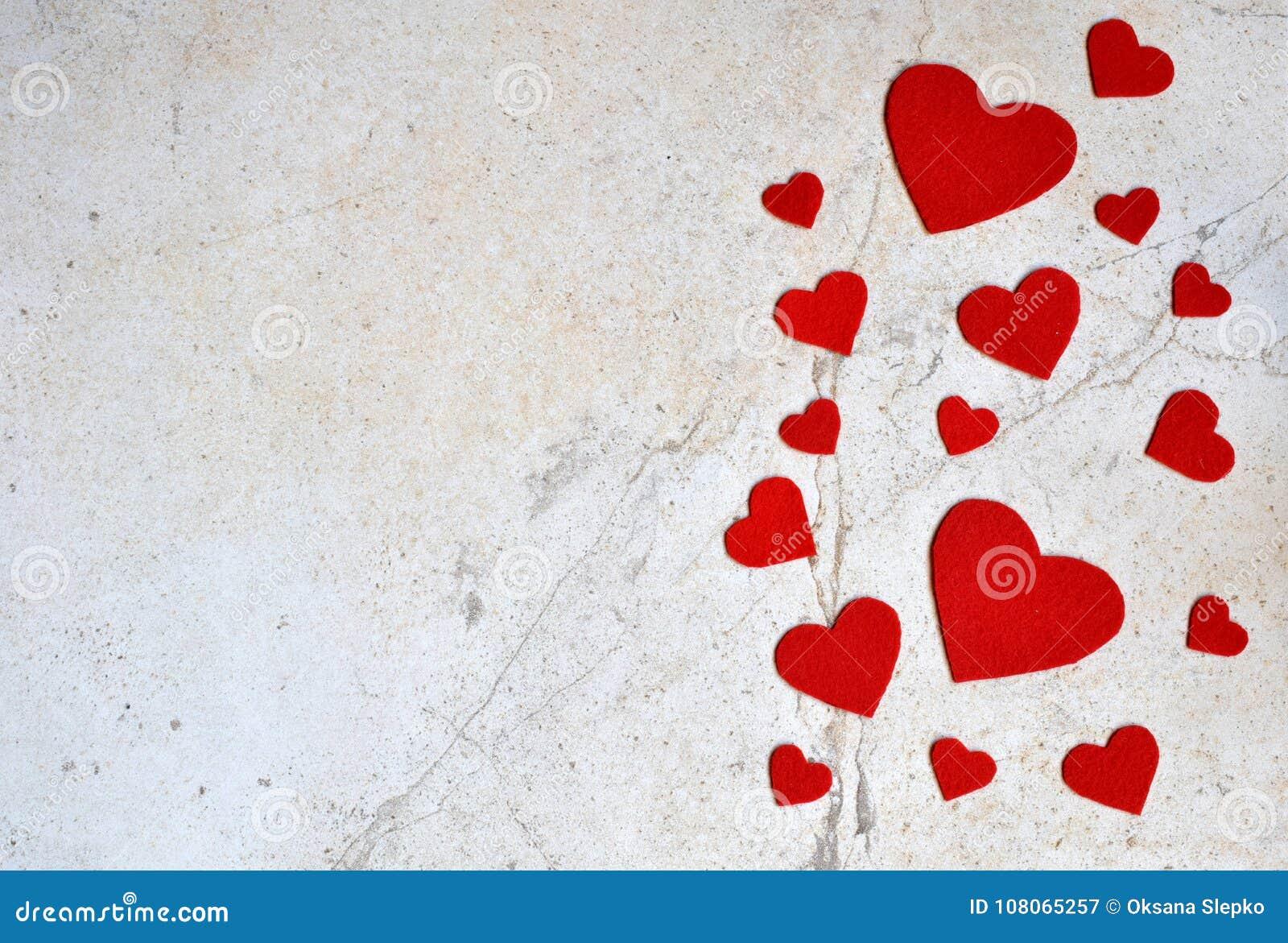 Valentines day background with handmade felt hearts valentine valentines day background with handmade felt hearts valentine romantic love concept m4hsunfo