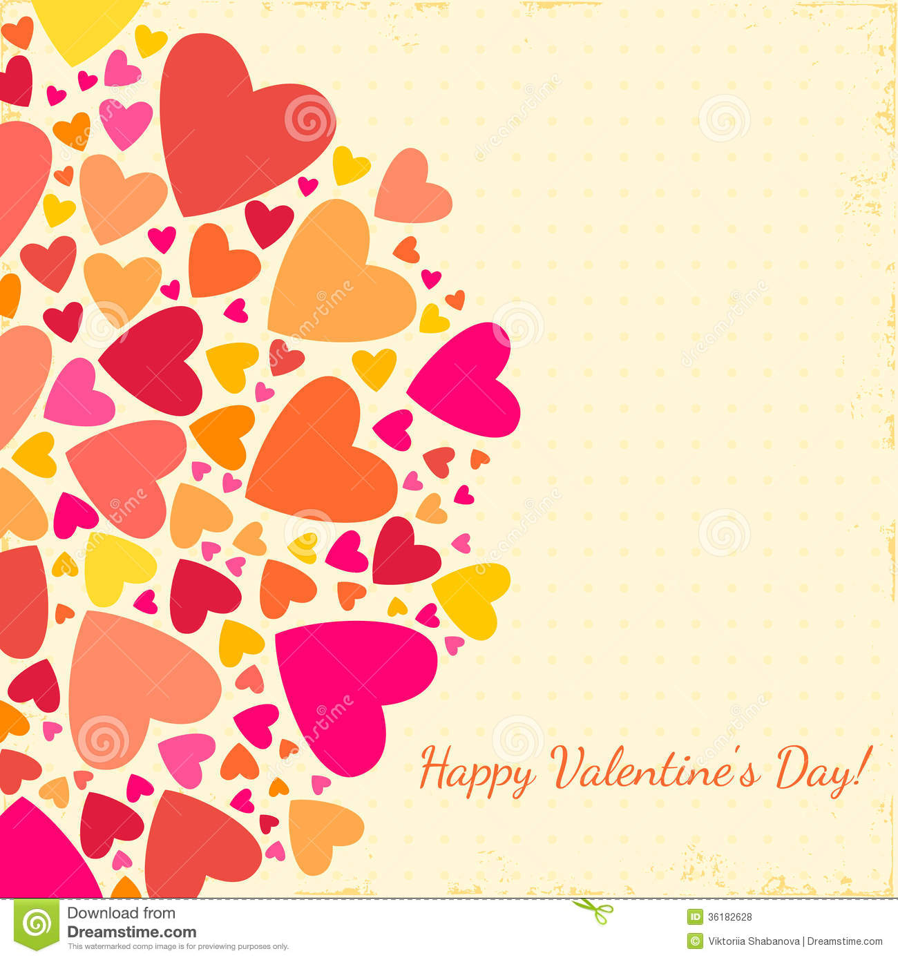 Valentines Day Background With Hearts Royalty Free Photos – Valentines Day Post Cards