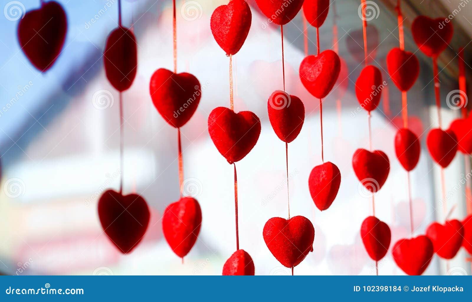 Valentine s day background with hearts. Valentine heart.