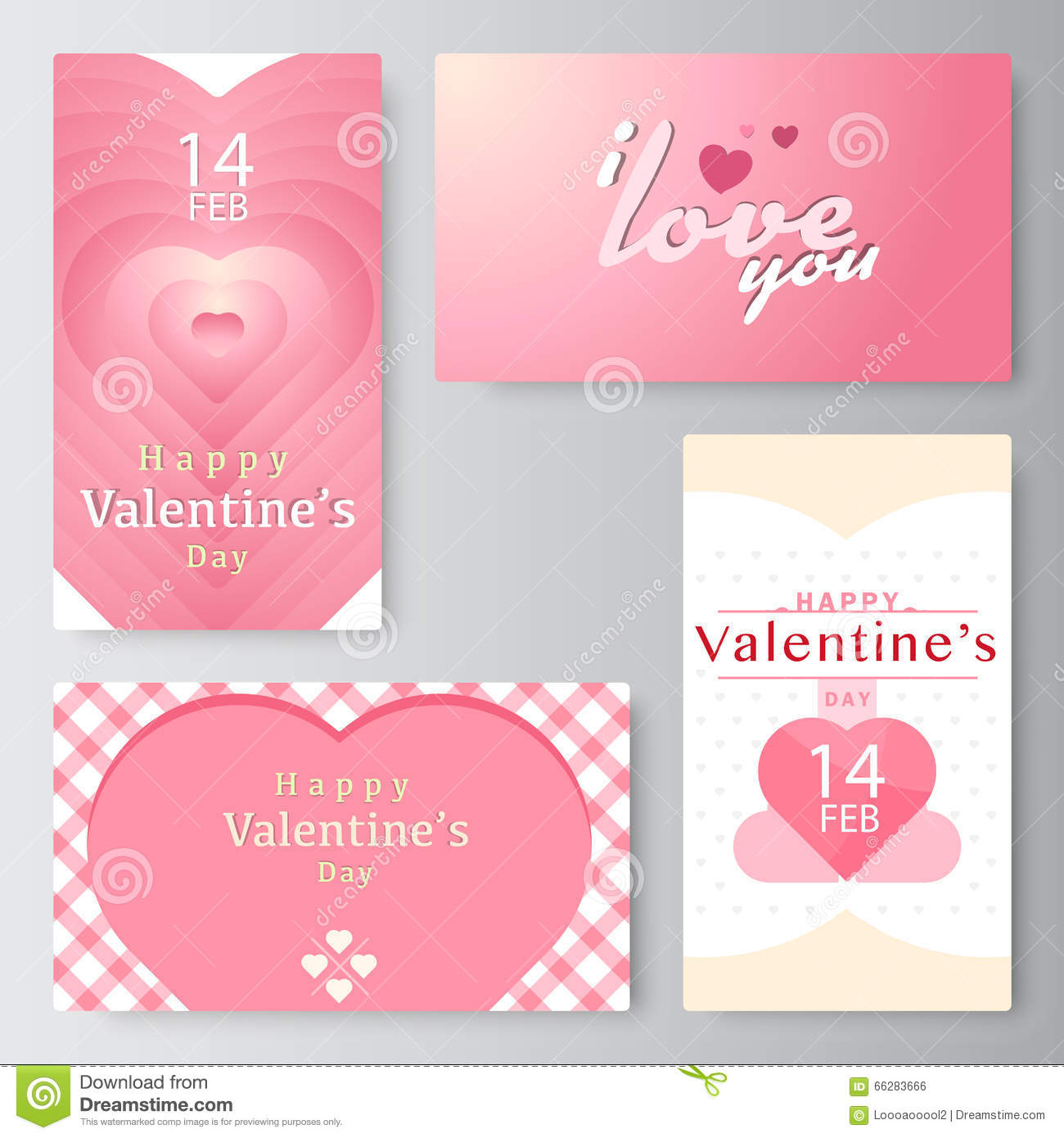 Valentines day business card banner vector stock stock vector download valentines day business card banner vector stock stock vector illustration of colourmoves