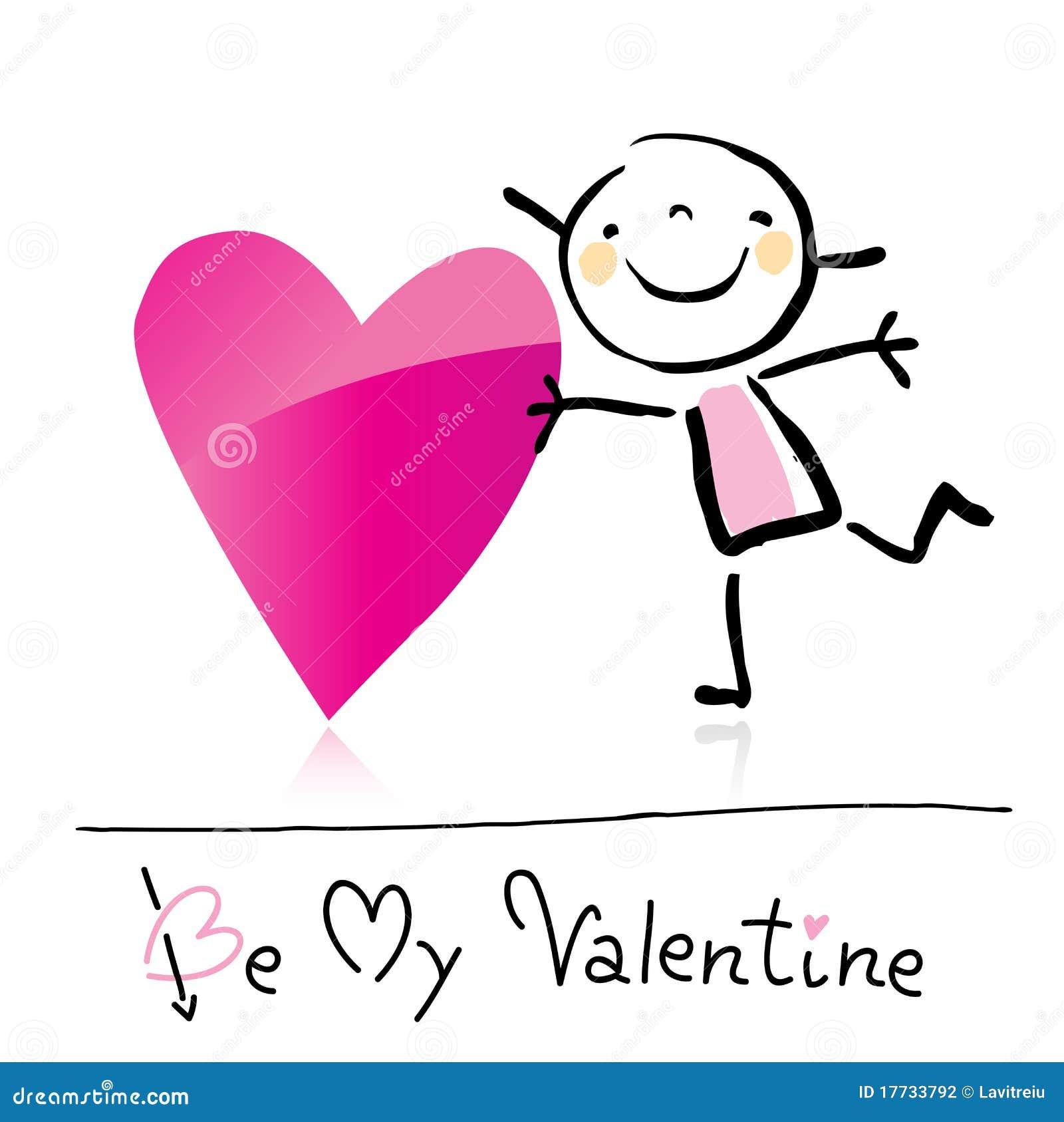 valentine u0027s day cartoon stock photography image 17733792