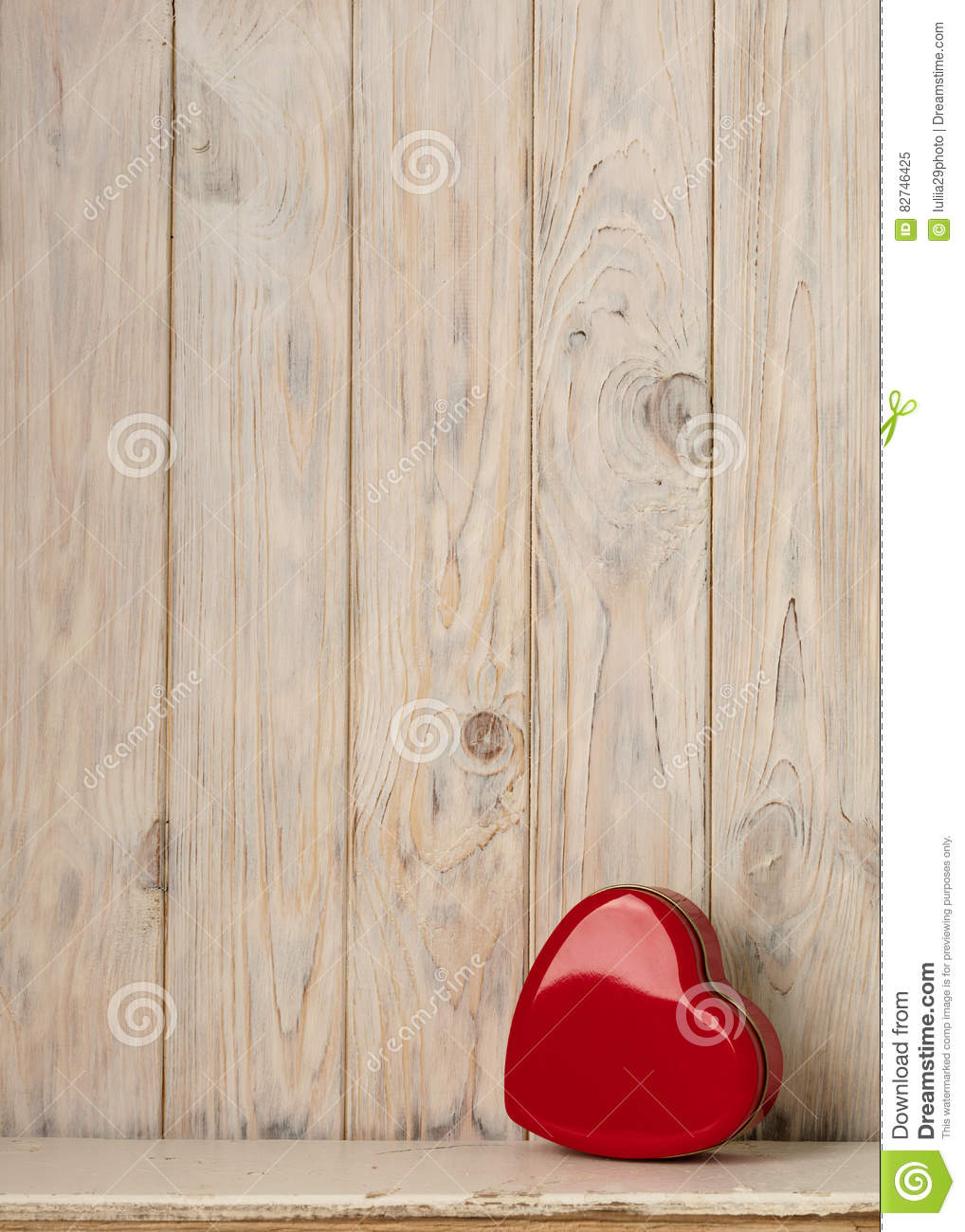 Download Valentine`s Day Concept. Red Metal Box In Heart Shape On A Light Stock Image - Image of decoration, pink: 82746425