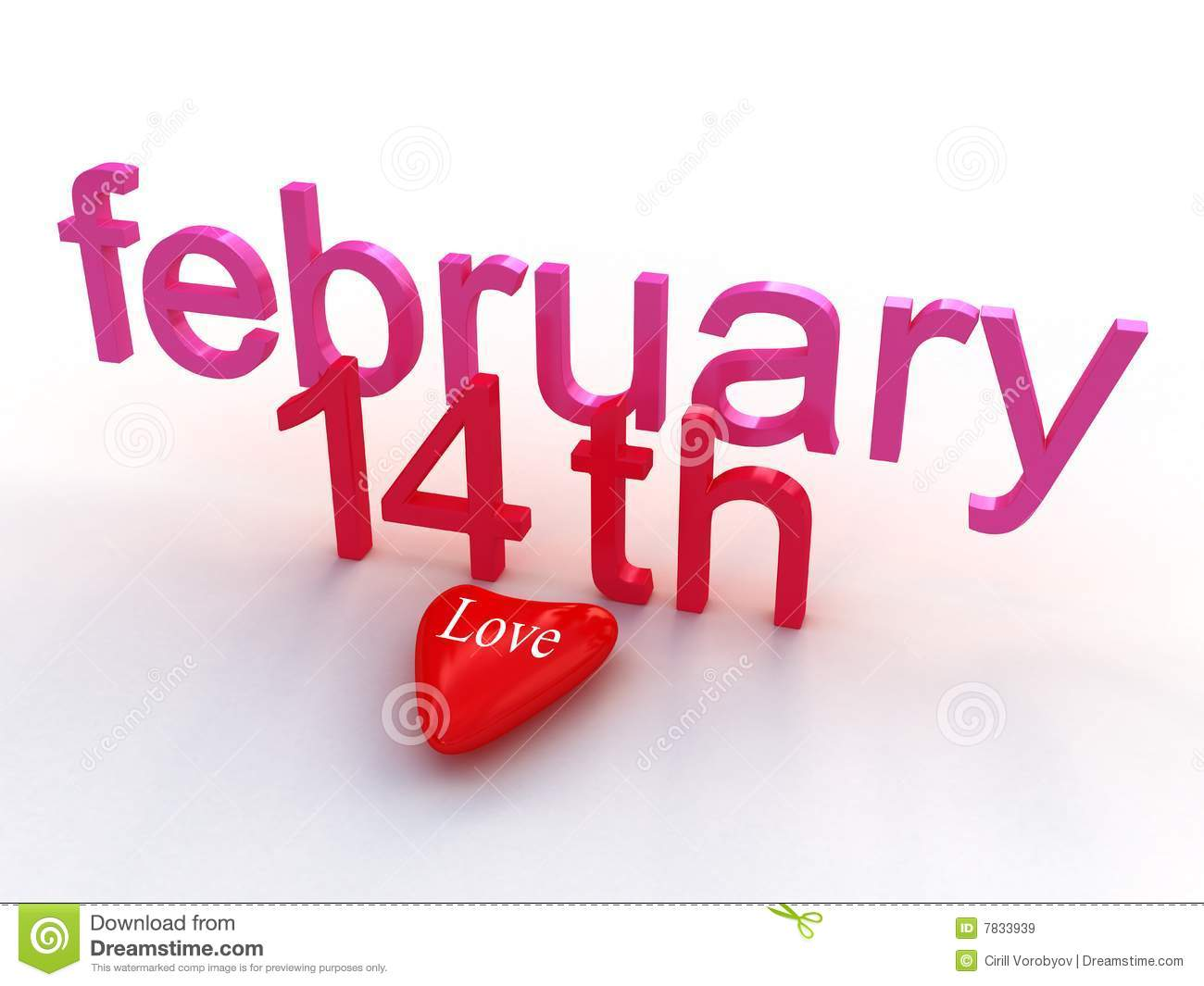 Feb 14th Valentines Day