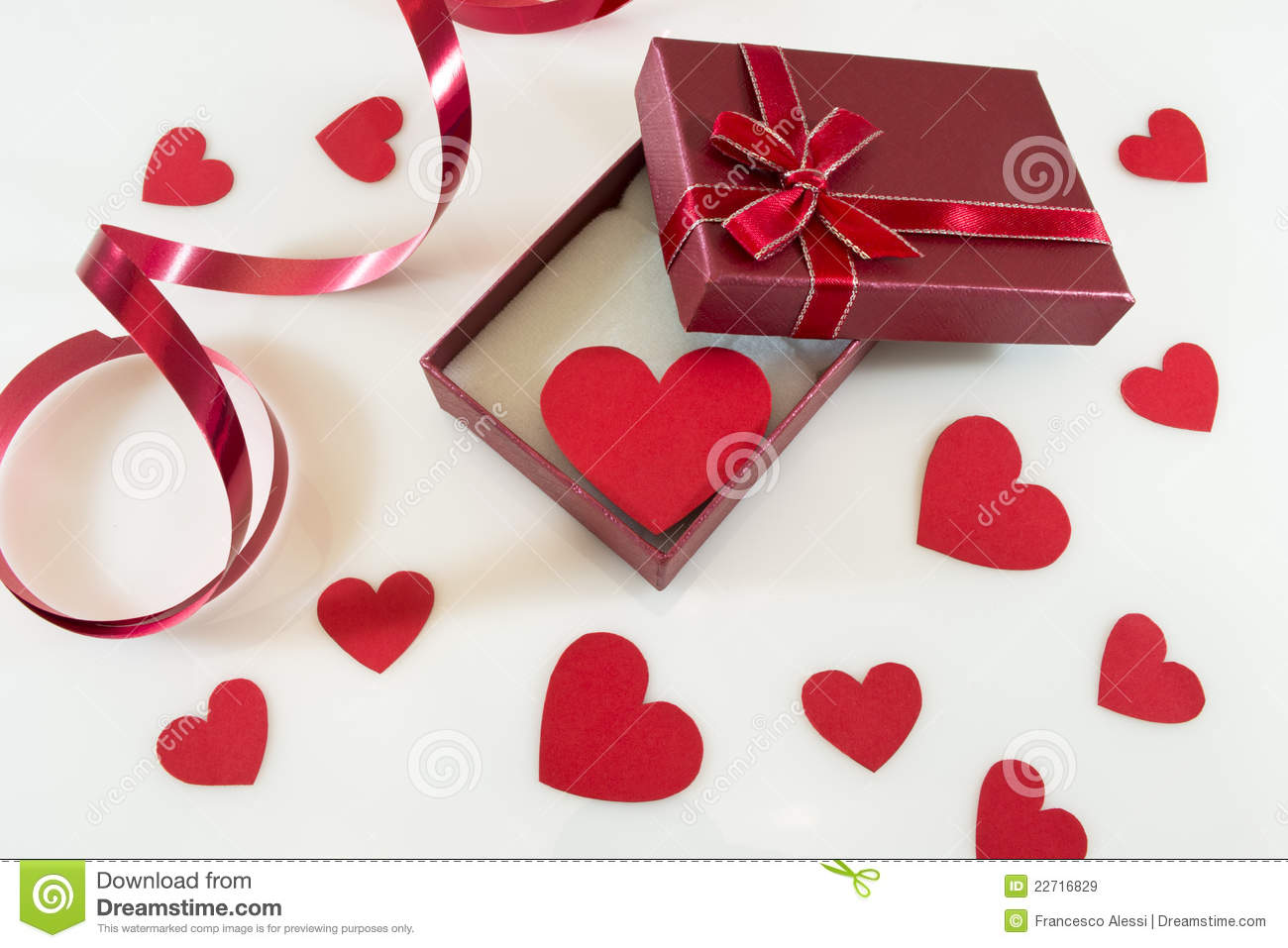 Valentine's Day Gift Royalty Free Stock Images - Image: 22716829