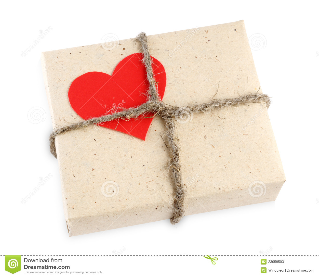 Valentine S Day Gift Box Stock Image Image Of Wrapping 23059503