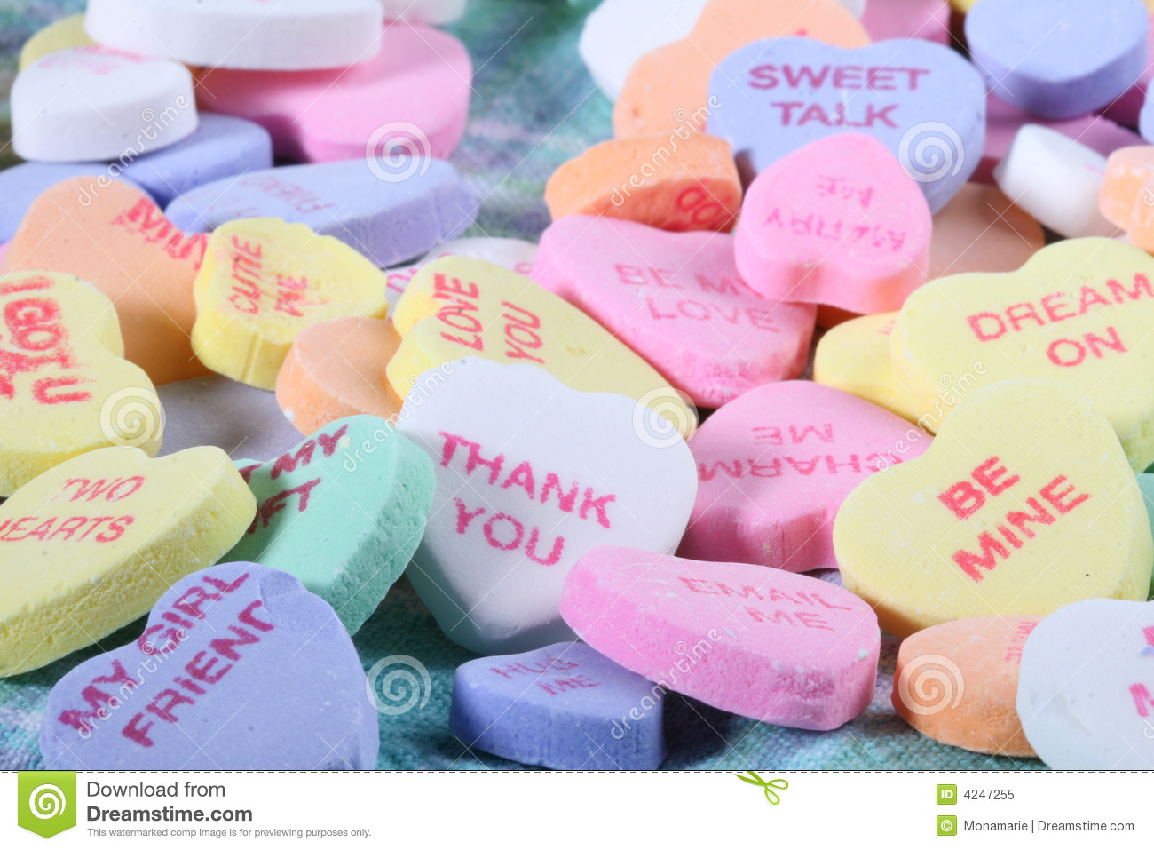 Valentine S Day Heart Candy Stock Image Image Of Happy Candy 4247255