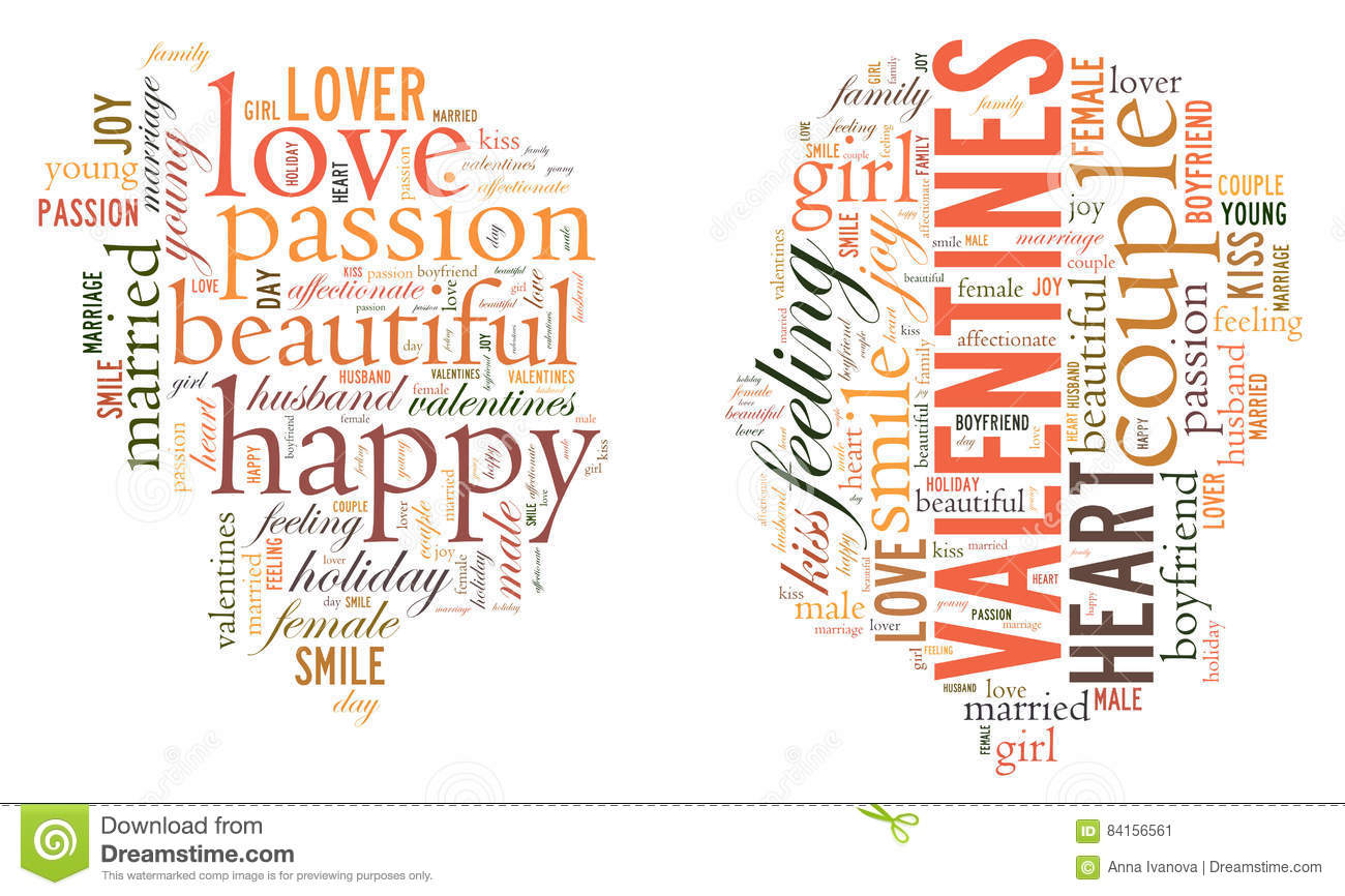 Valentine`s Day  I Love You  Loving Couple  Heart