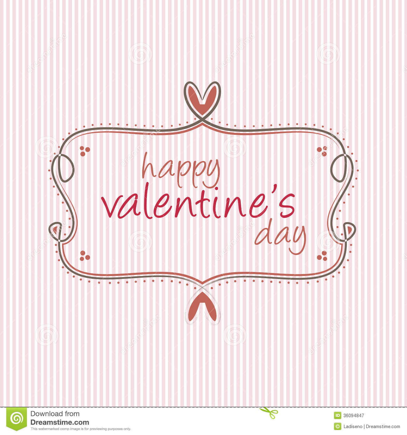 Valentines Day label stock vector Image of shiny decoration – Valentine Day Label