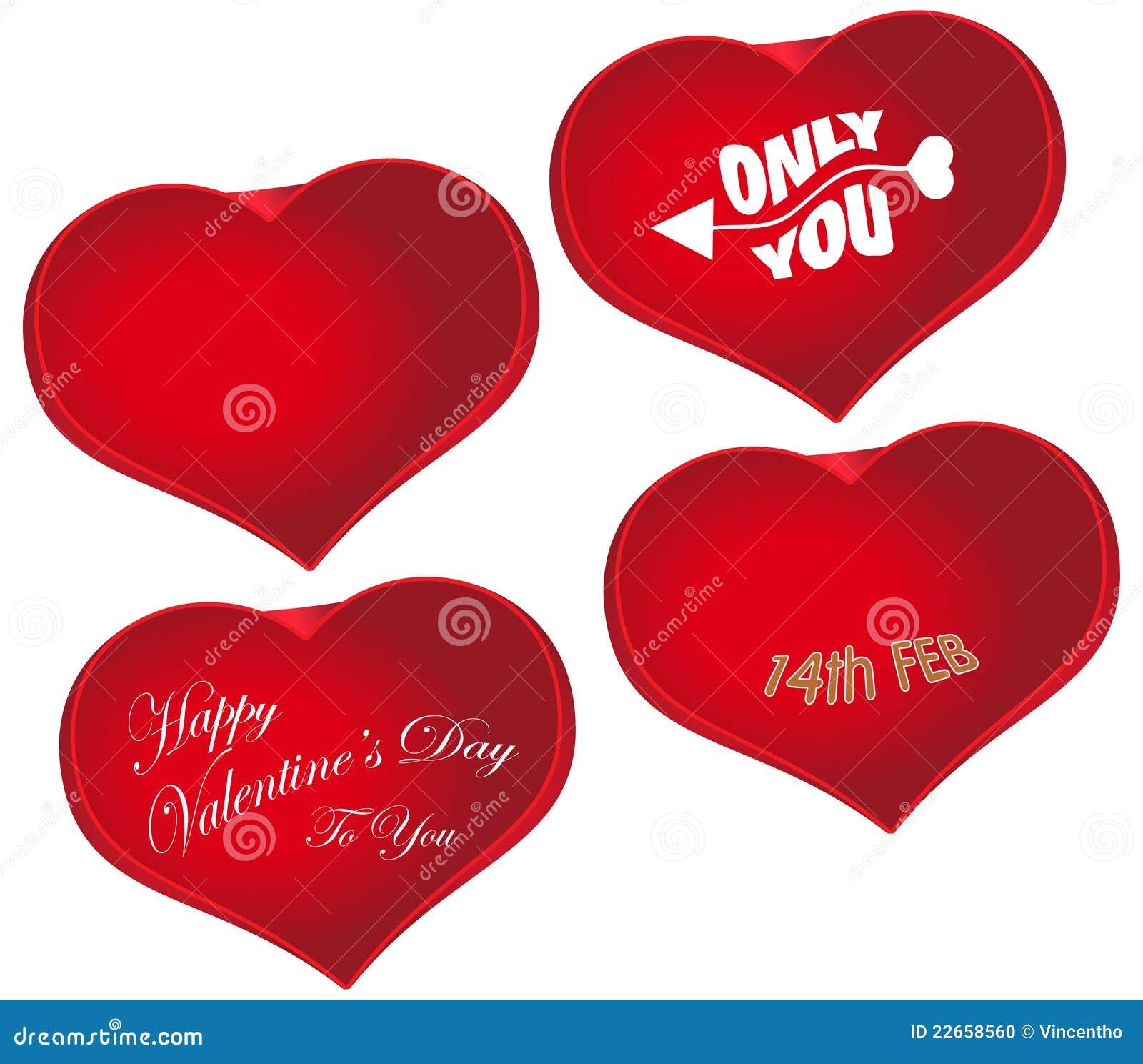 Valentines day red heart shape love symbol stock vector image valentine s day red heart shape love symbol biocorpaavc