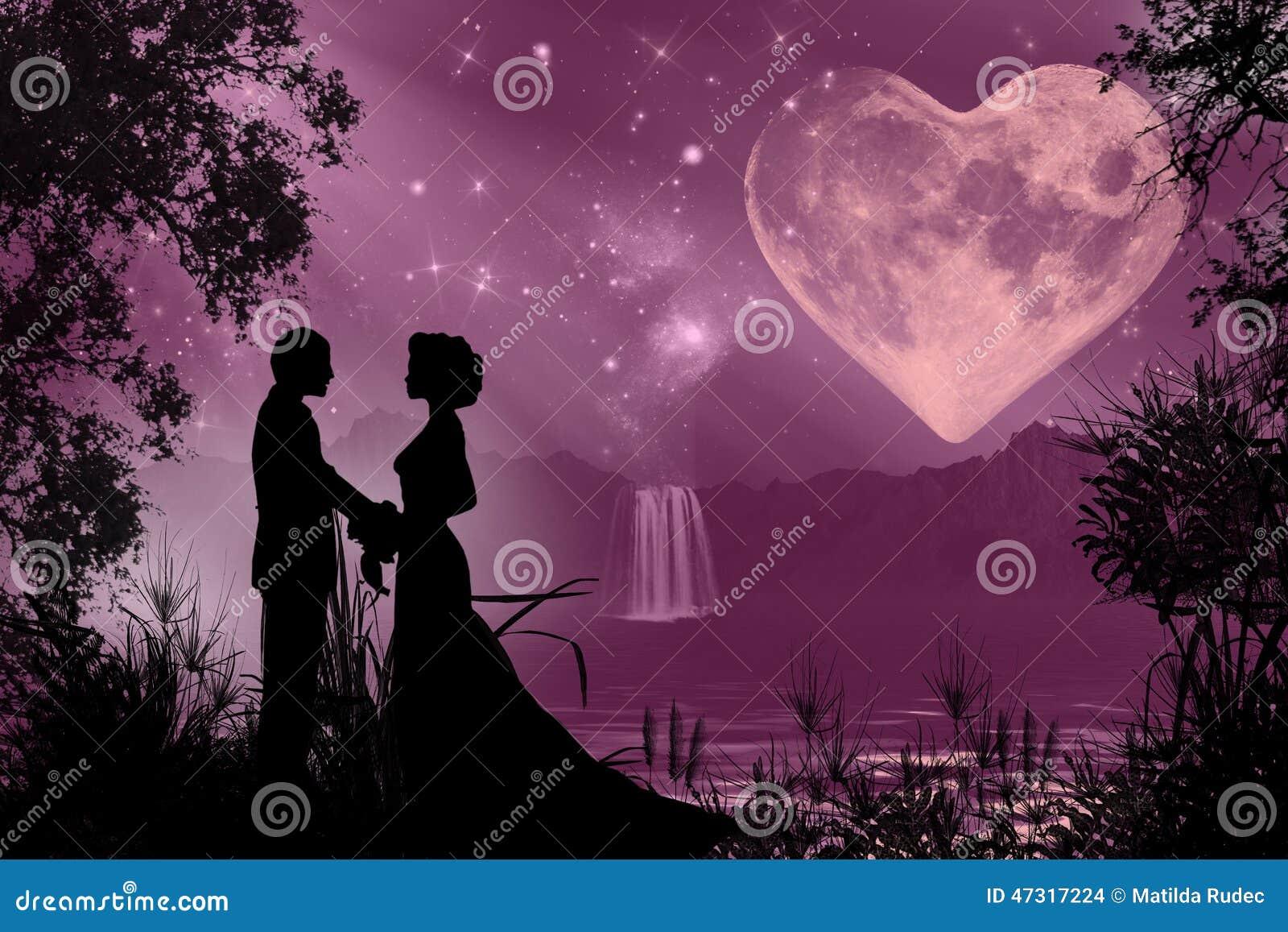 Valentine S Day Romantic Atmosphere Stock Illustration