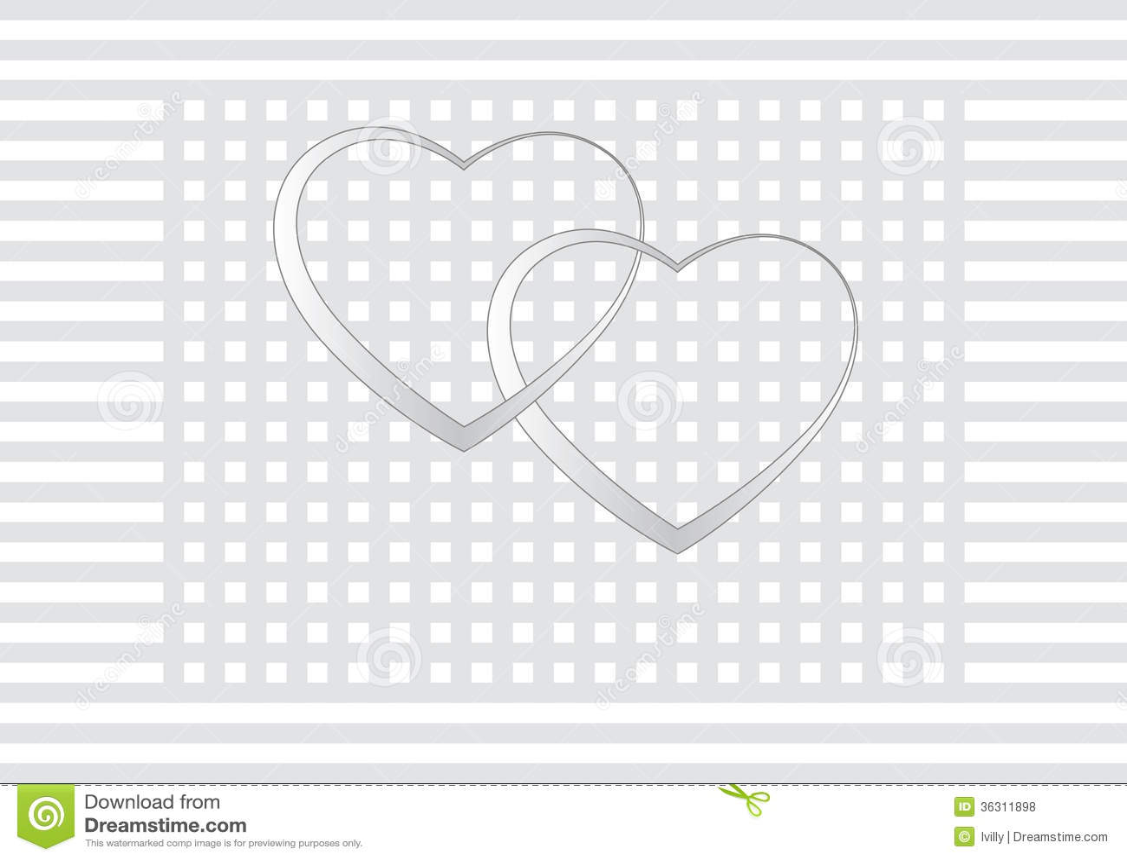 Valentine's Day Wedding Card Invitation Royalty Free