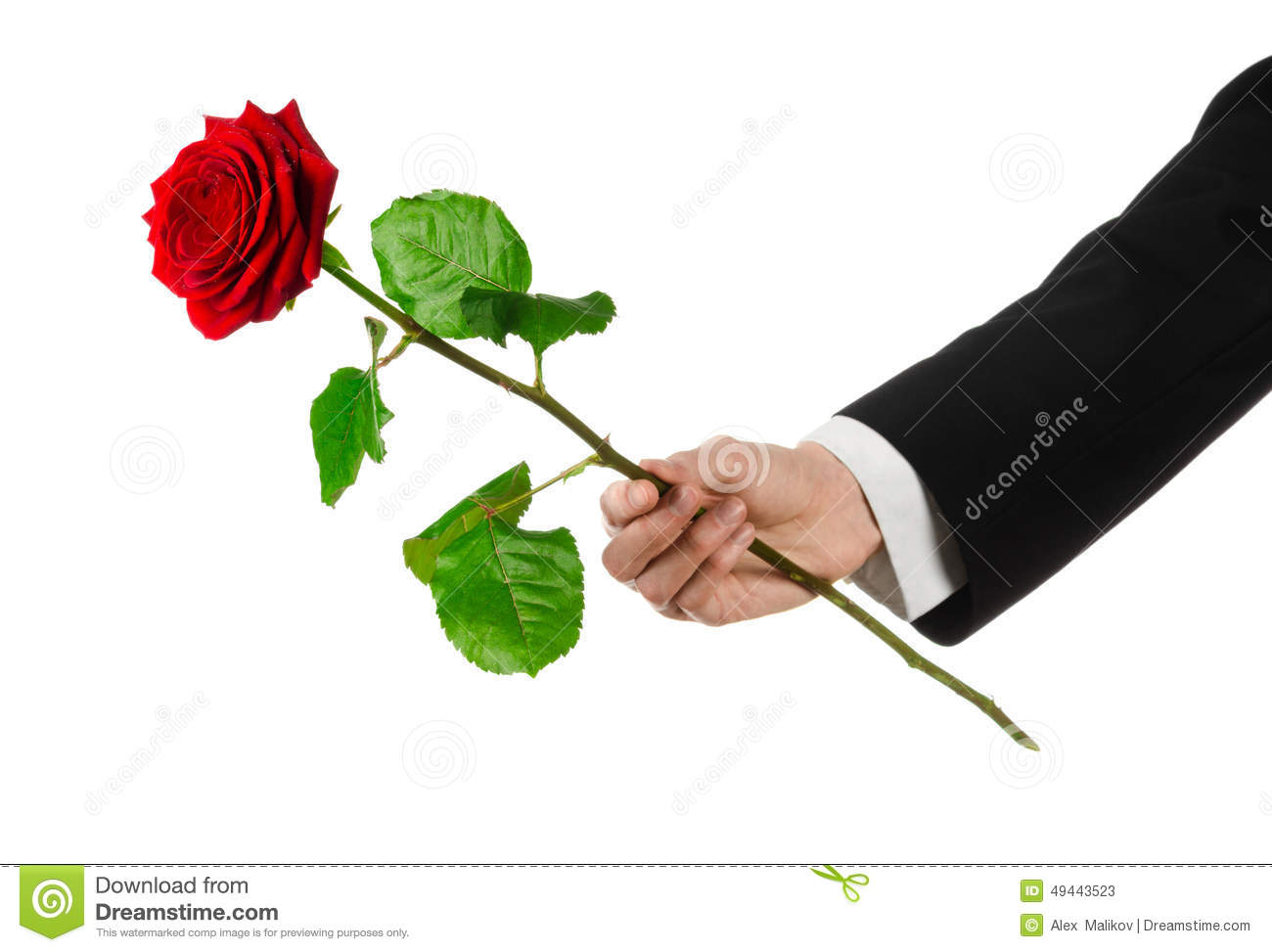 Valentine S Day And Women S Day Theme Man S Hand In A