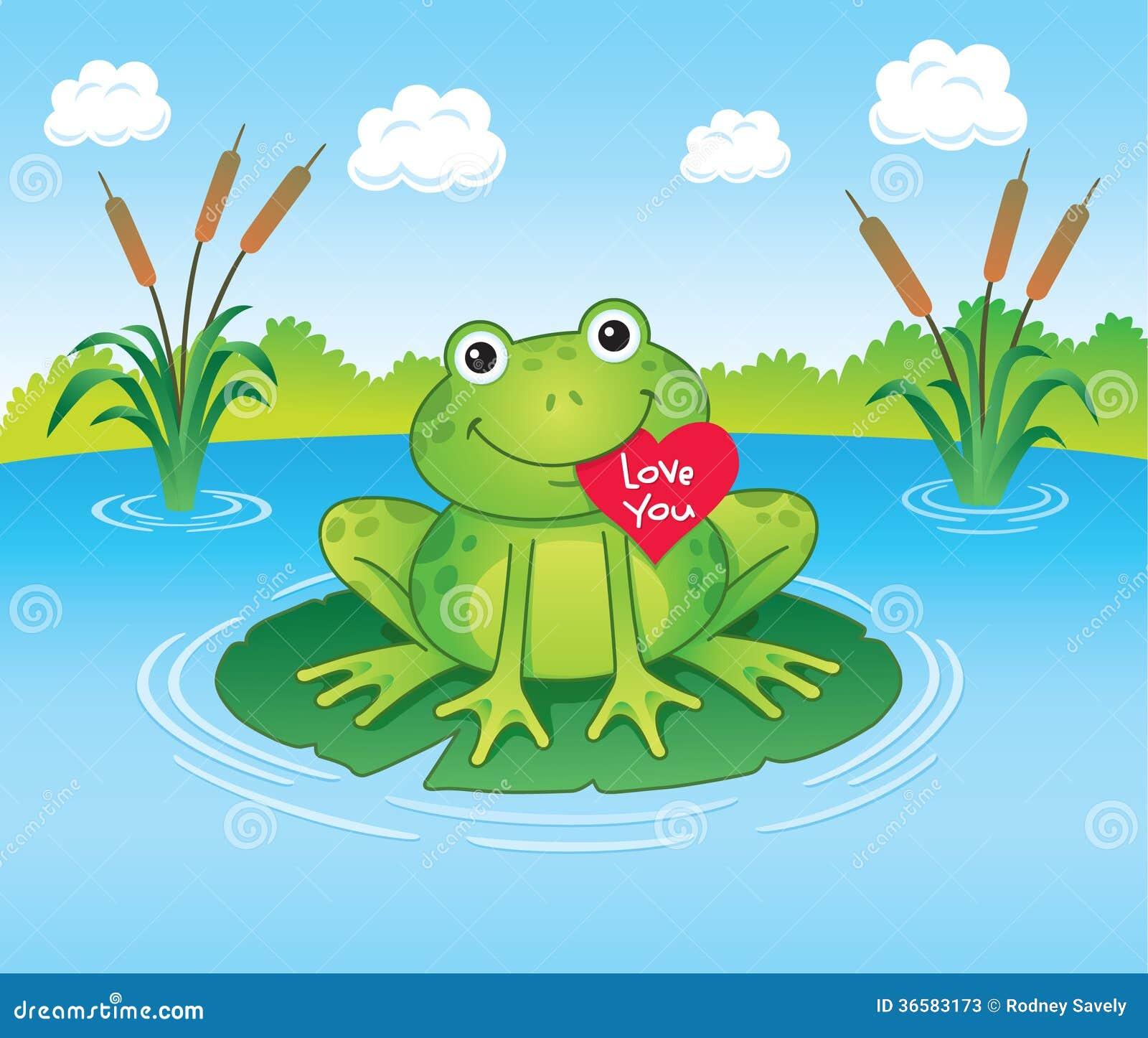 Valentines Frog Stock Photos Image 36583173