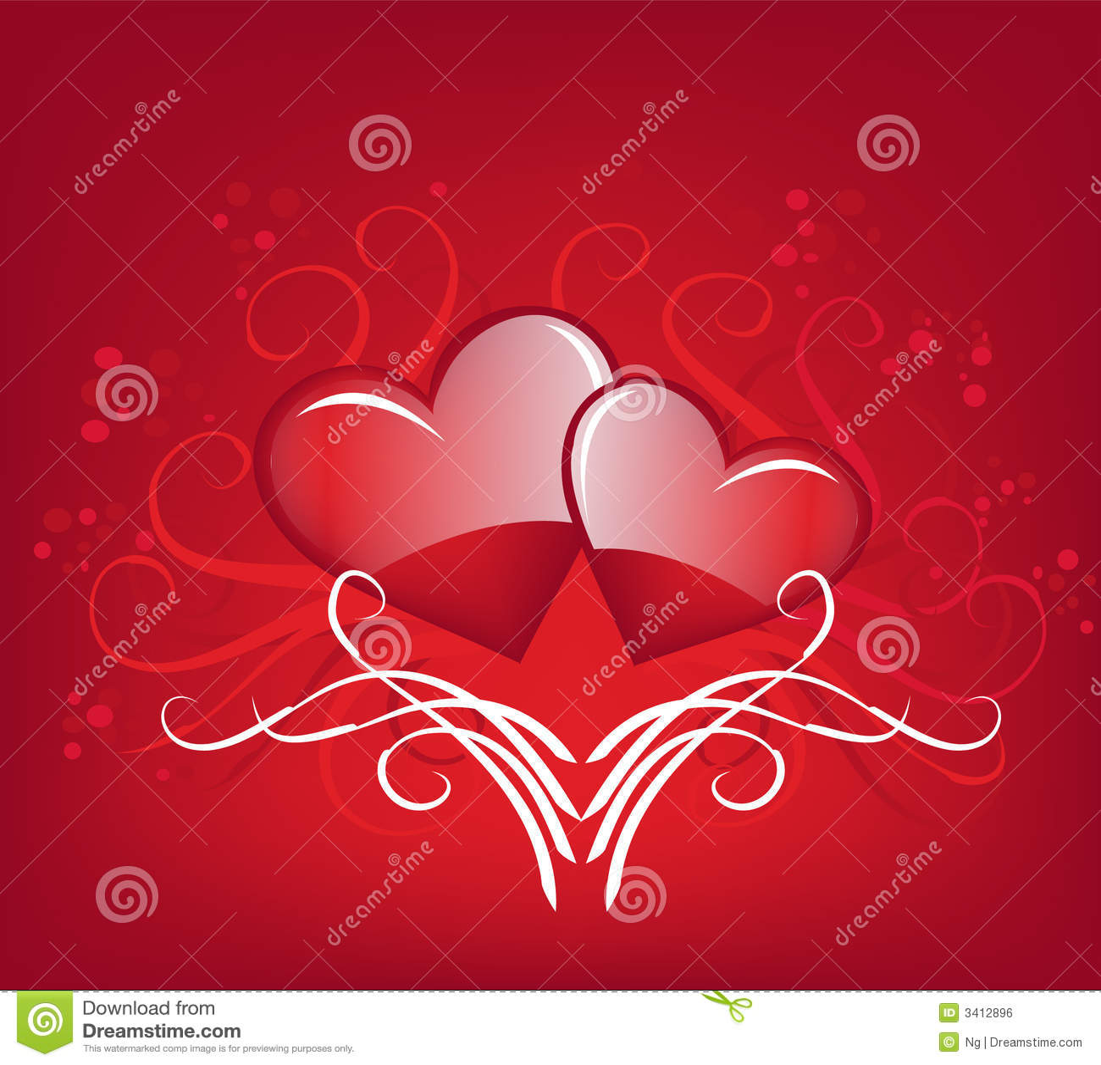 Valentine's Heart Royalty Free Stock Image - Image: 3412896