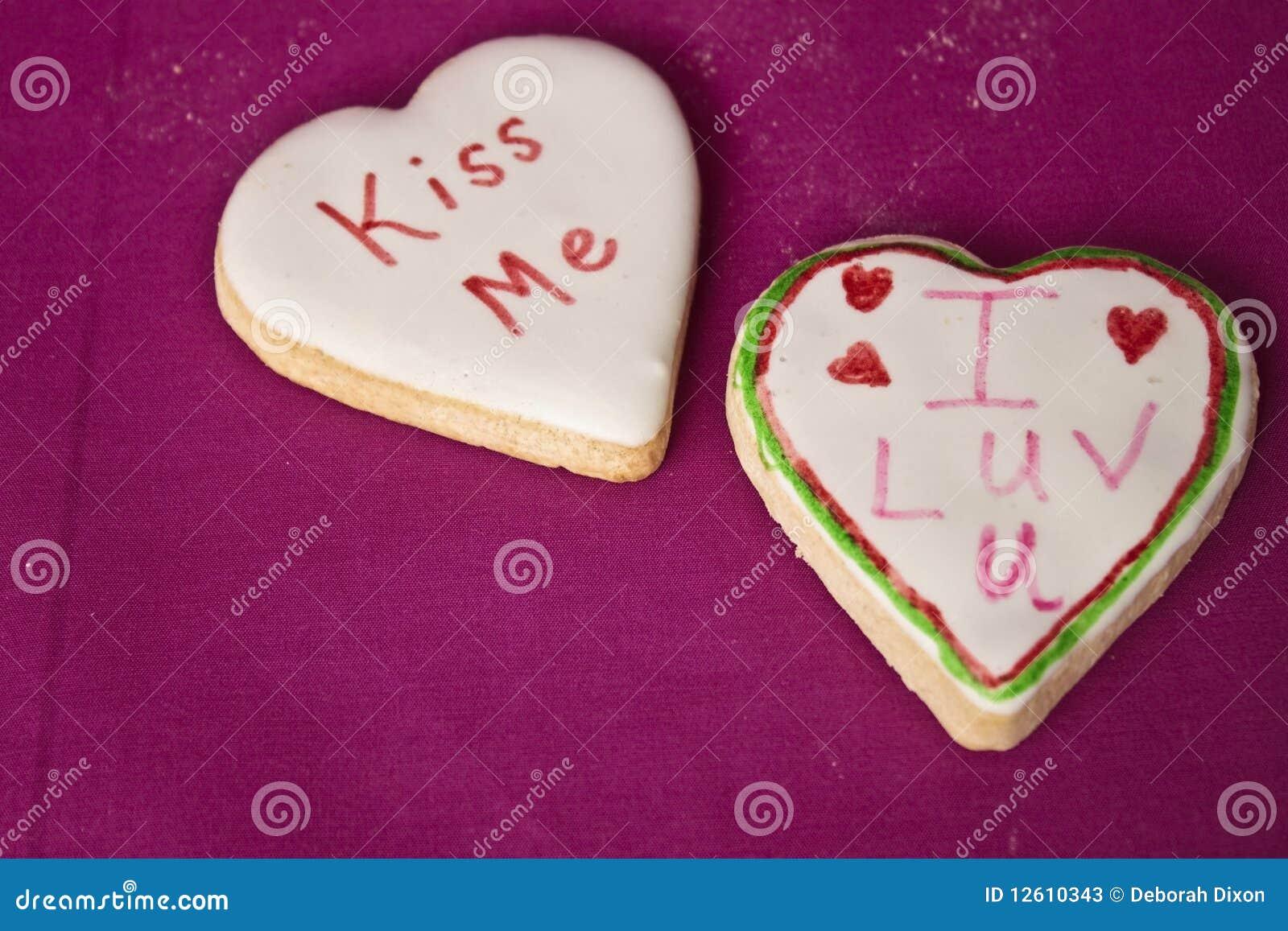 Valentine s Message Cookies