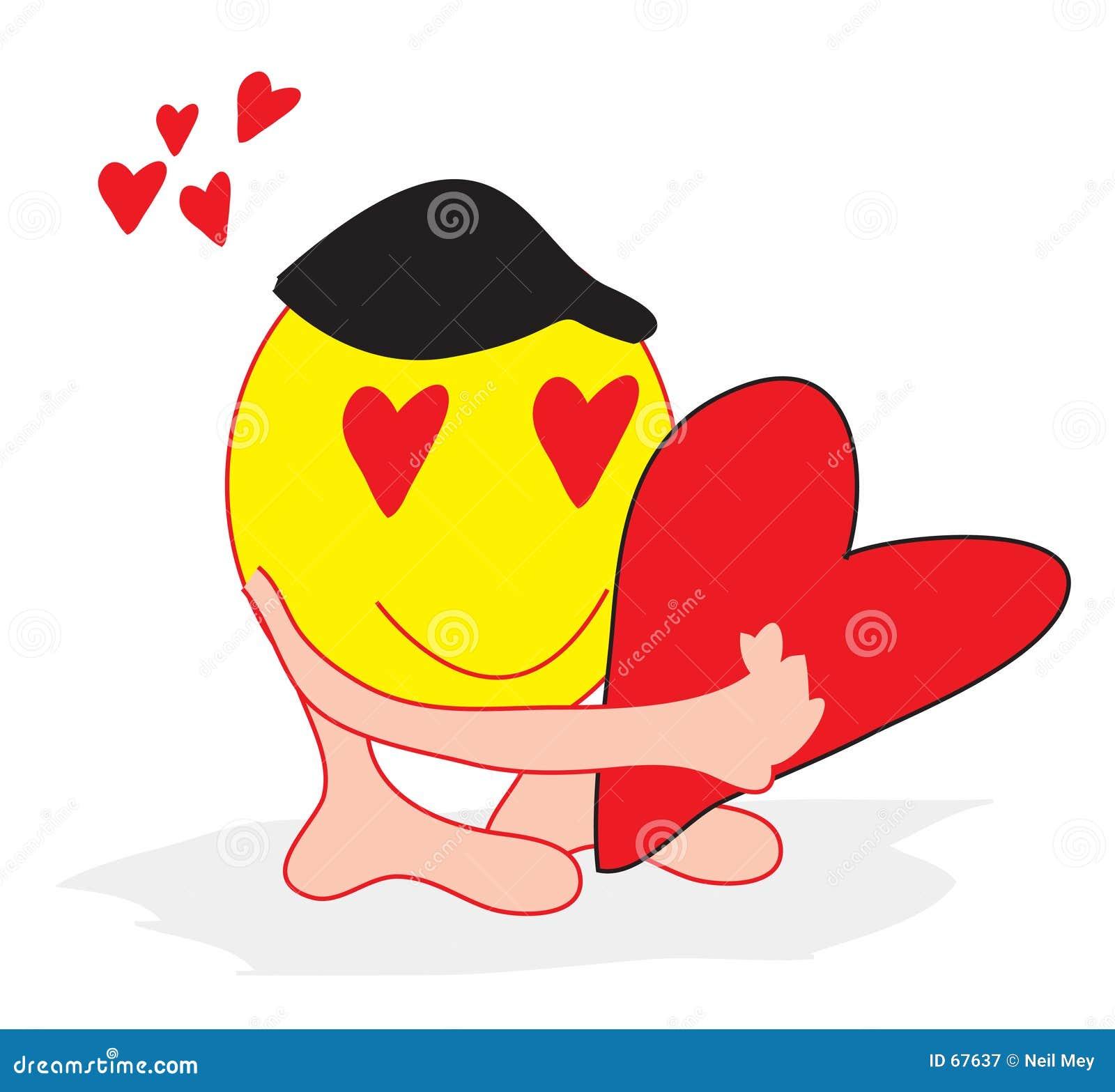 Valentine souriant