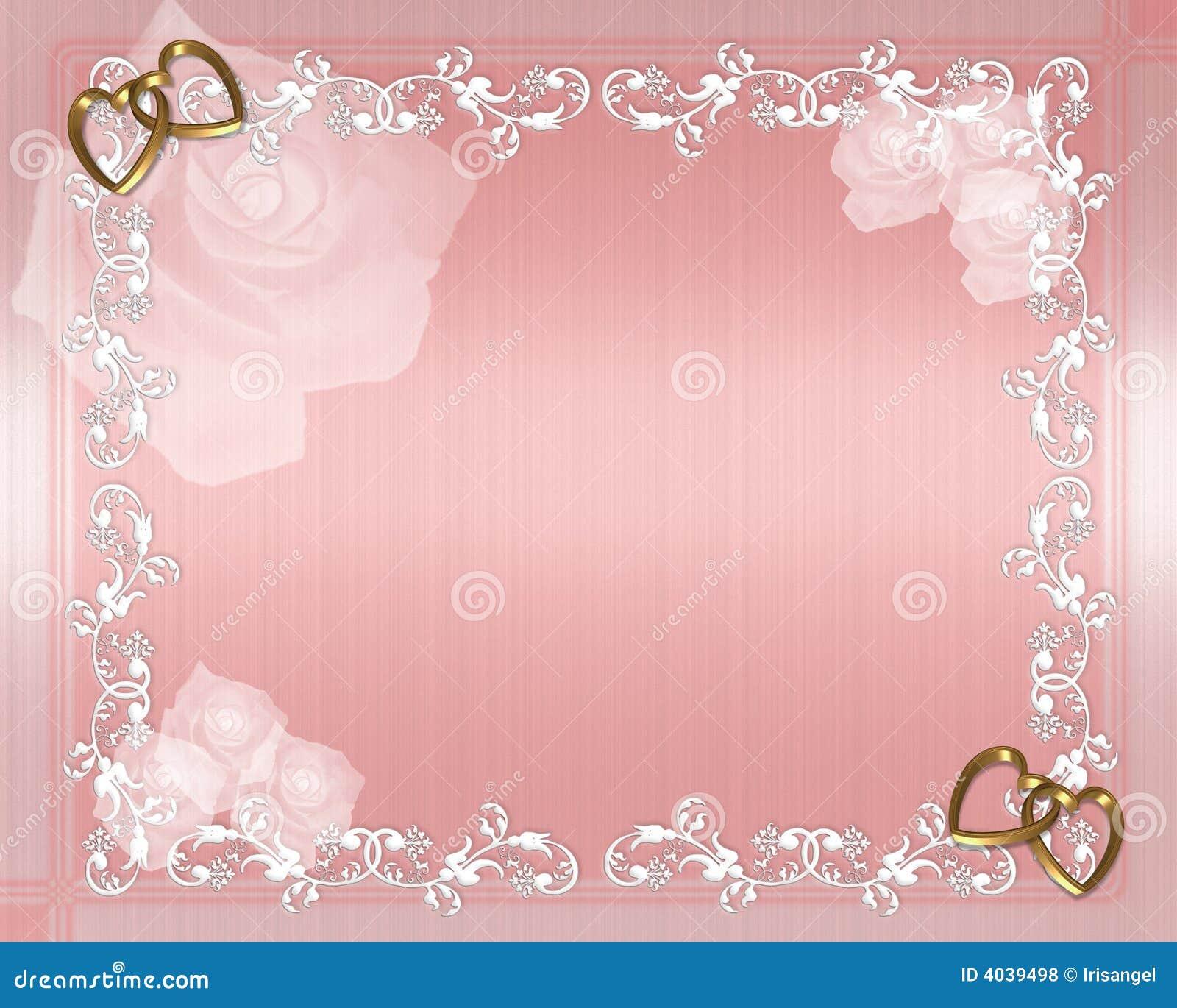 Valentine Wedding Border Royalty Free Stock Photos Image