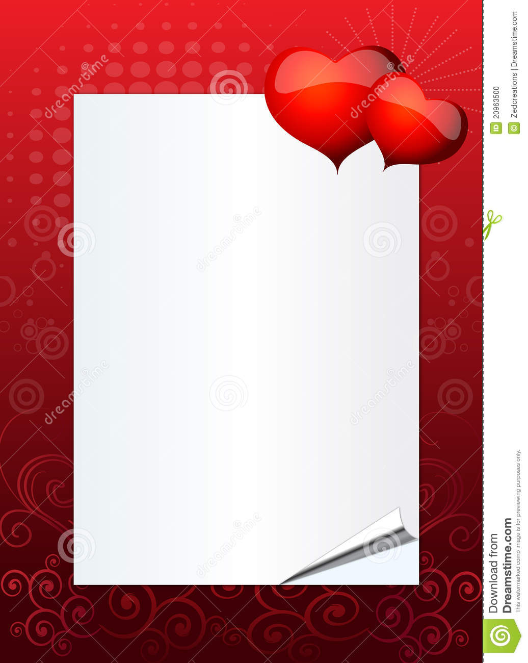 Valentine Or Wedding Invitation Stock Vector - Illustration of ...