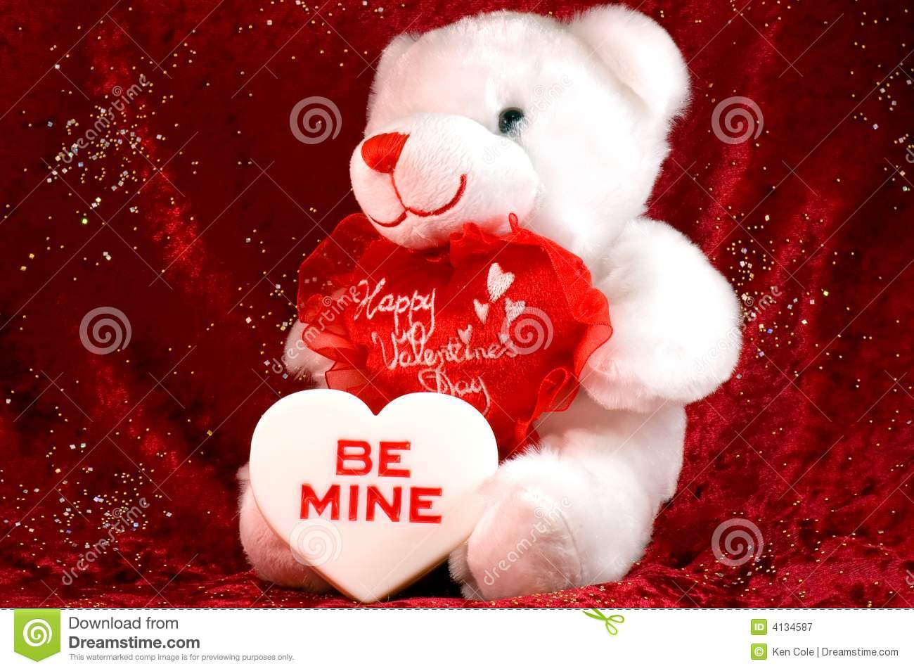 Valentines Bear With Candy