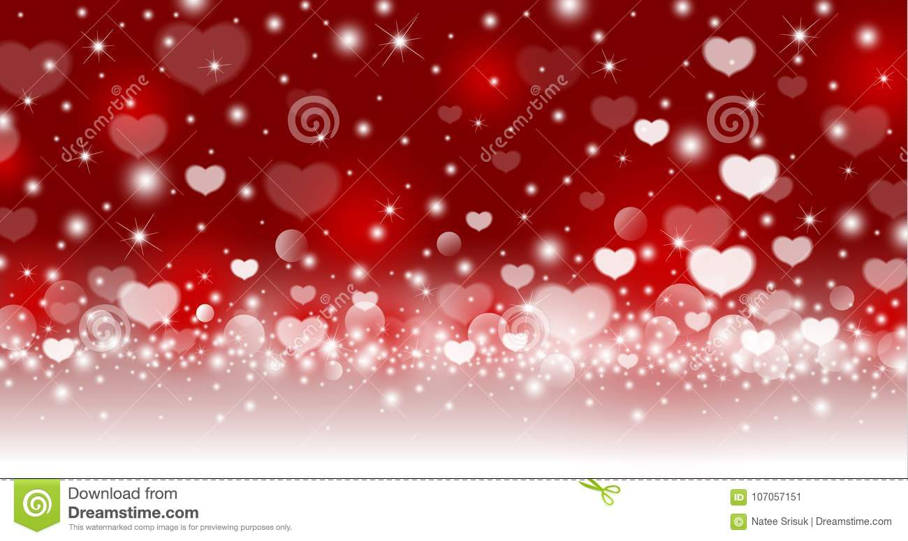 Valentines day abstract background design of heart