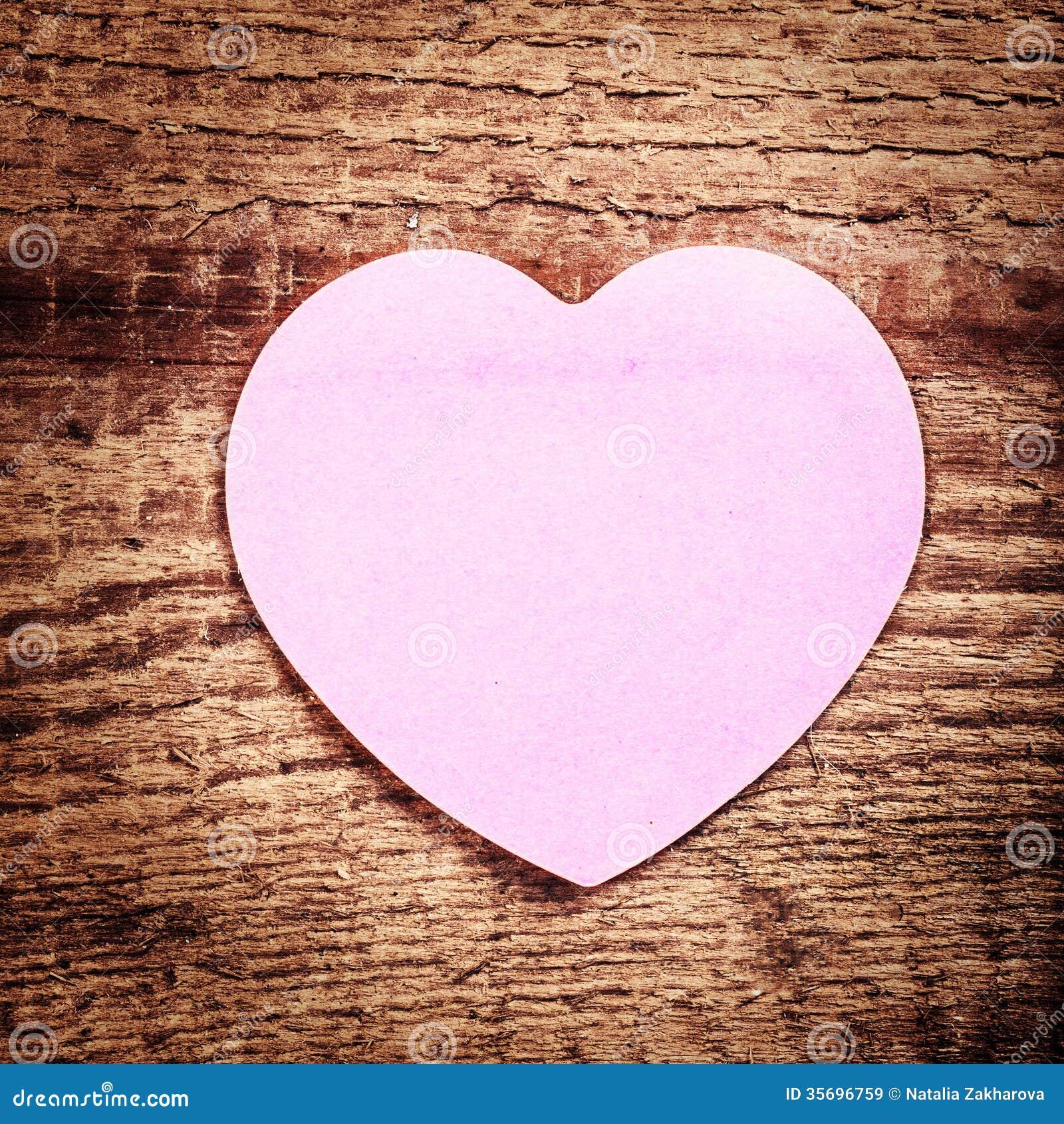 Vintage Heart Background Valentines Day Backgro...