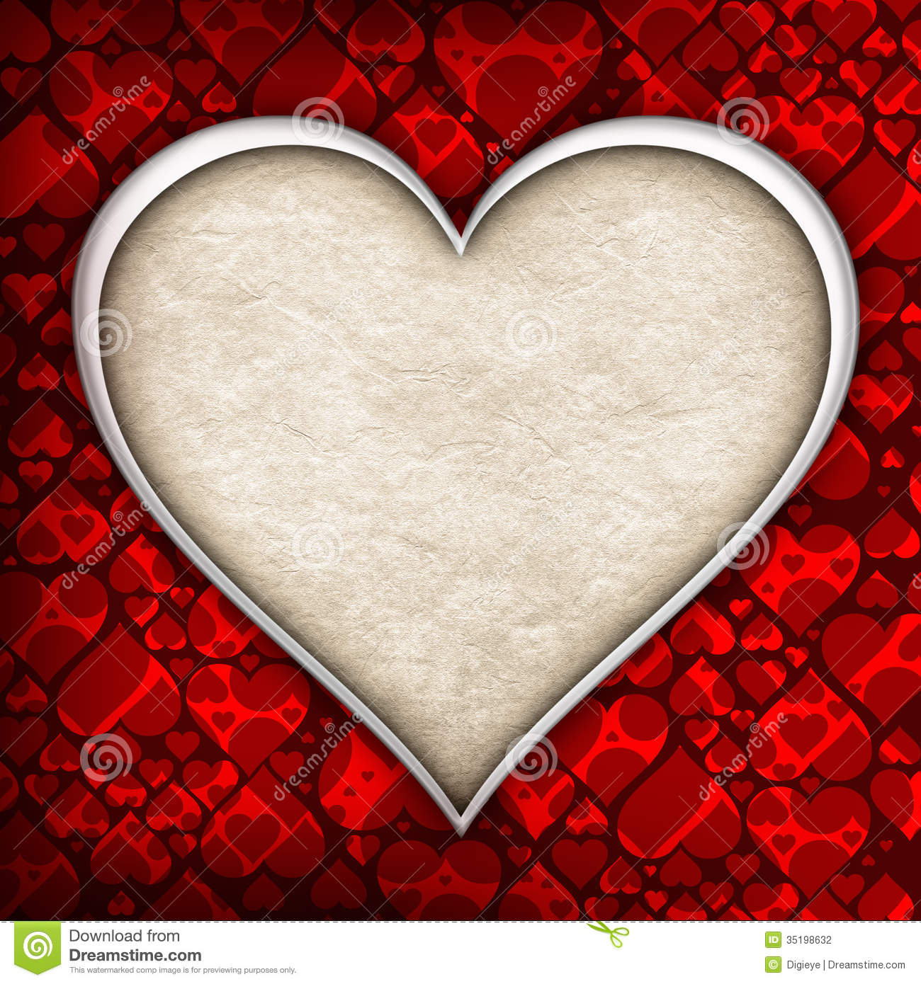 valentine heart background template stock photo image of card