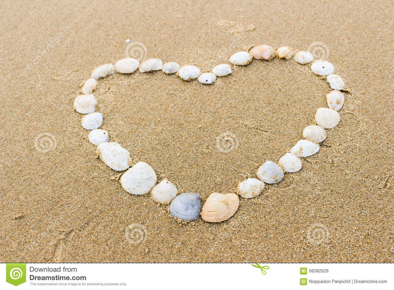 Valentines Day On The Beach Stock Image Image Of Nature Beach