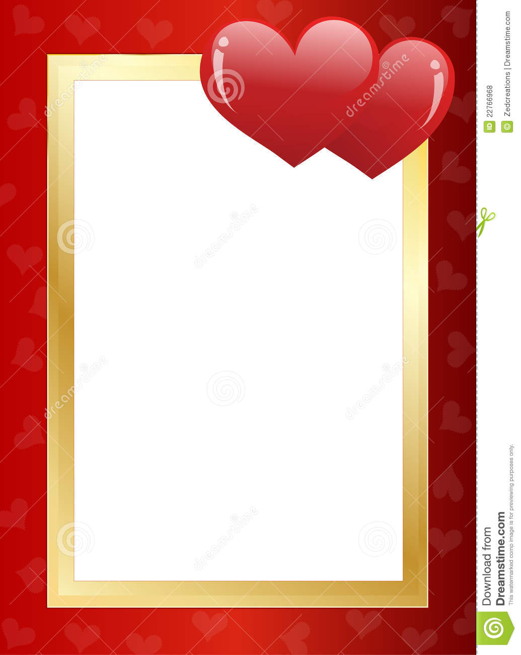 Love Borders And Frames Valentines day border