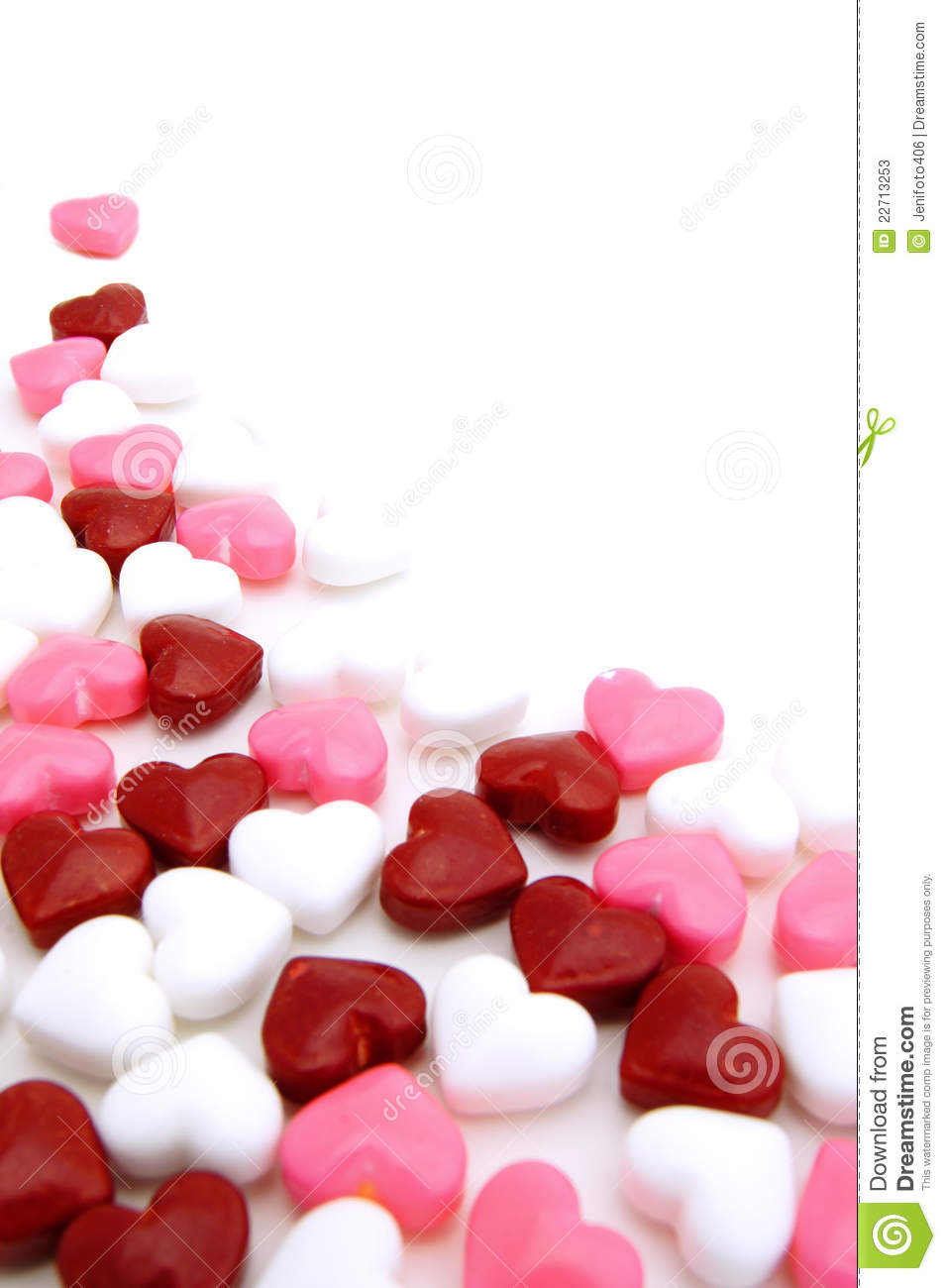 Valentines Day Candy Background Stock Photos - Image: 22713253