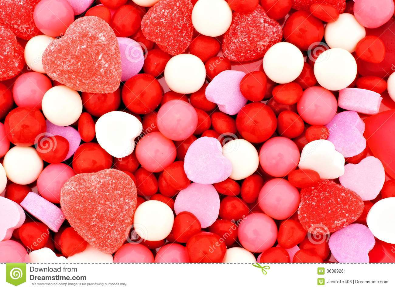 Valentines Day Candy Background Stock Image Image Of Full Food