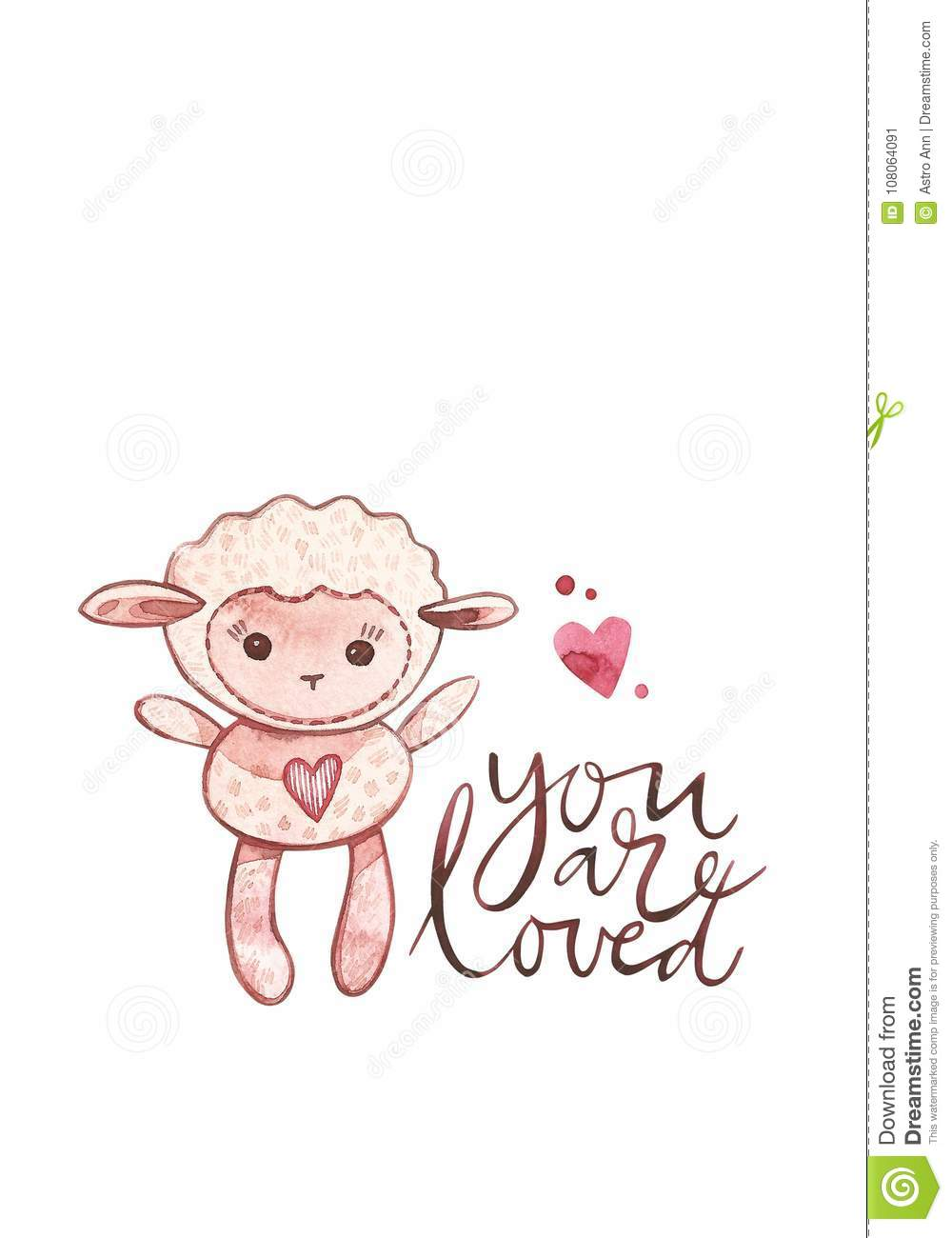 Valentines day cards with lamb you are loved romantic quote for download valentines day cards with lamb you are loved romantic quote for design greeting m4hsunfo