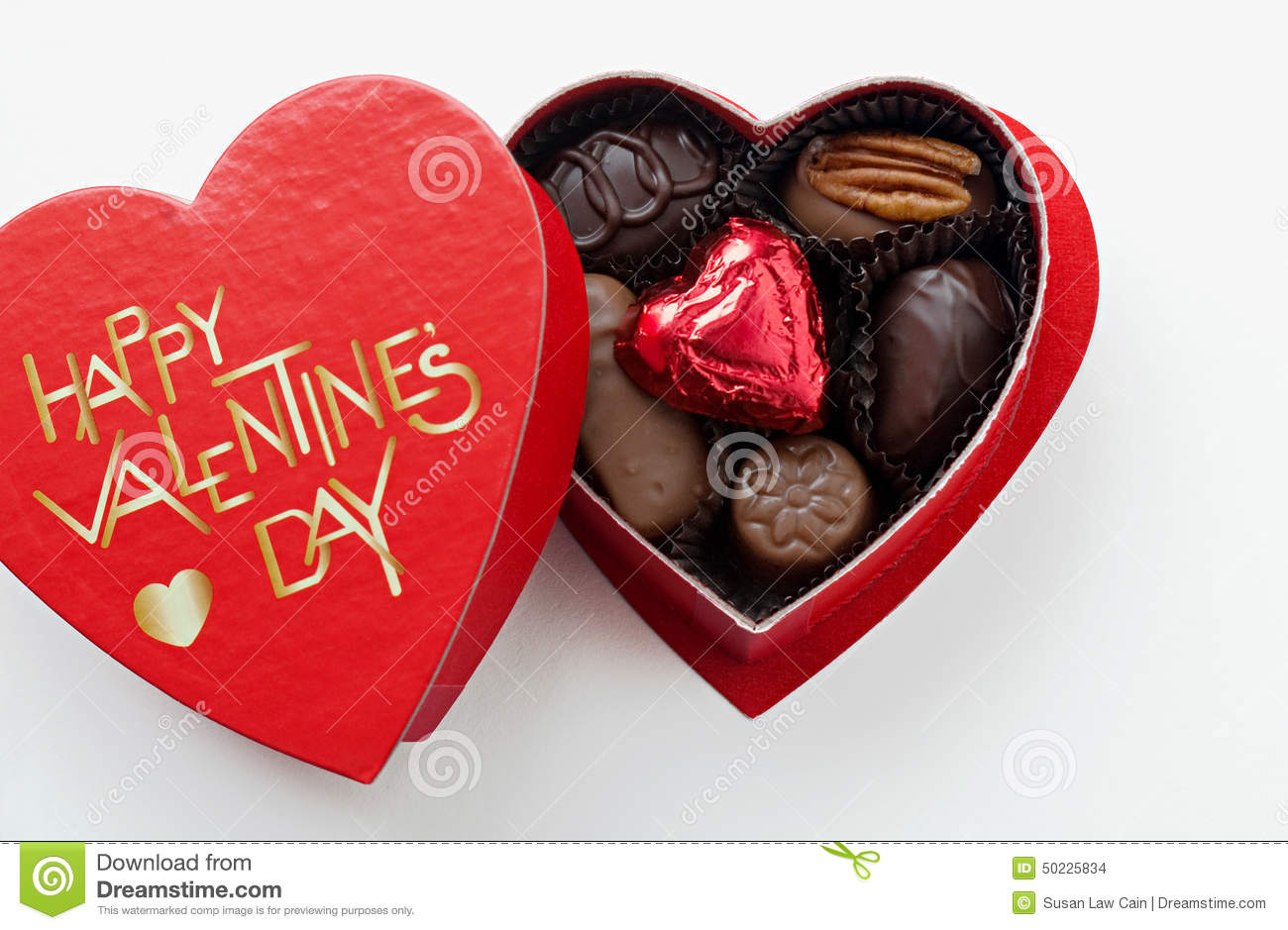 Valentines Day Chocolates Stock Photo - Image: 50225834