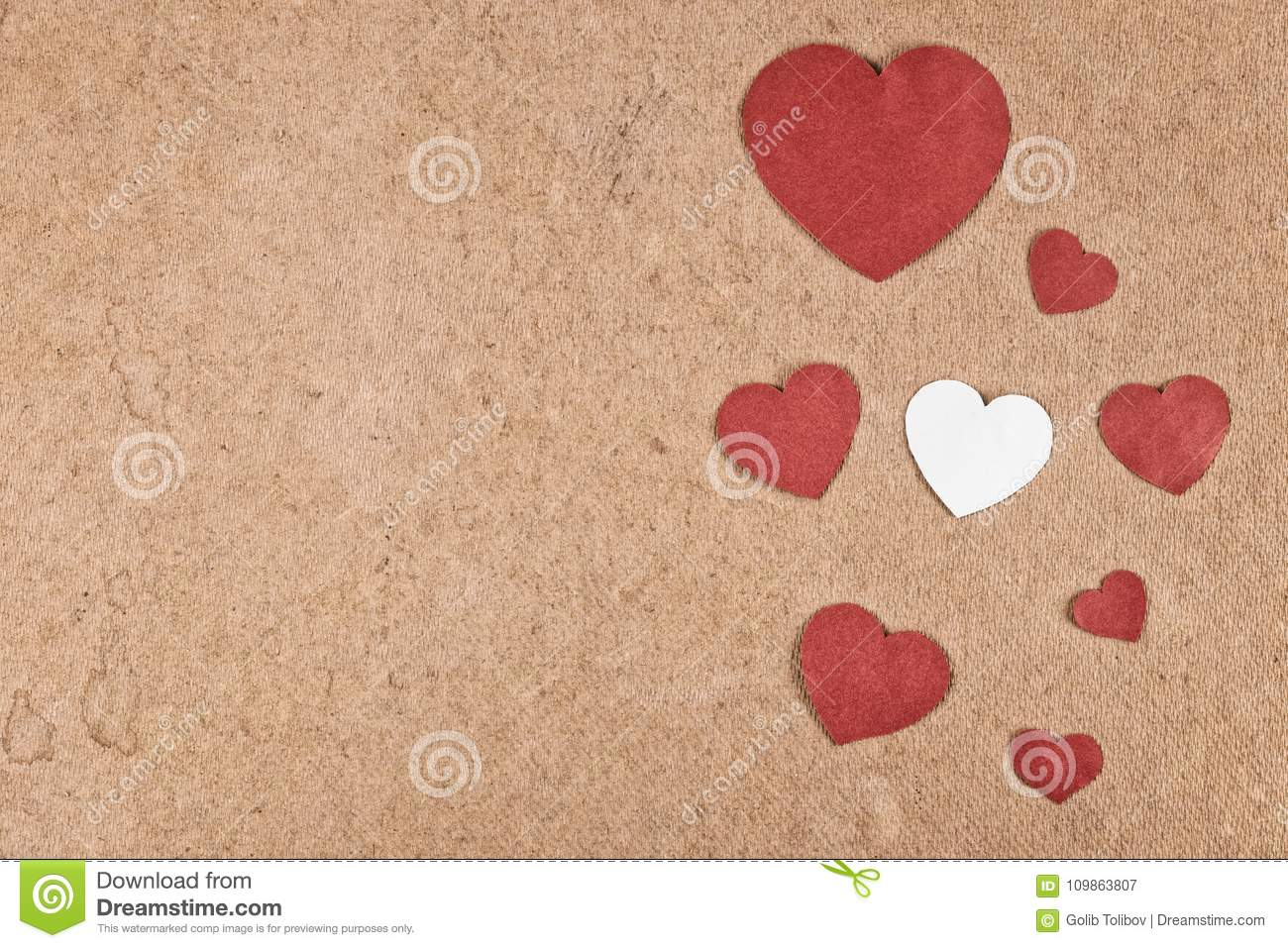 Valentines Day Crafts For Kids Stock Image Image Of Love