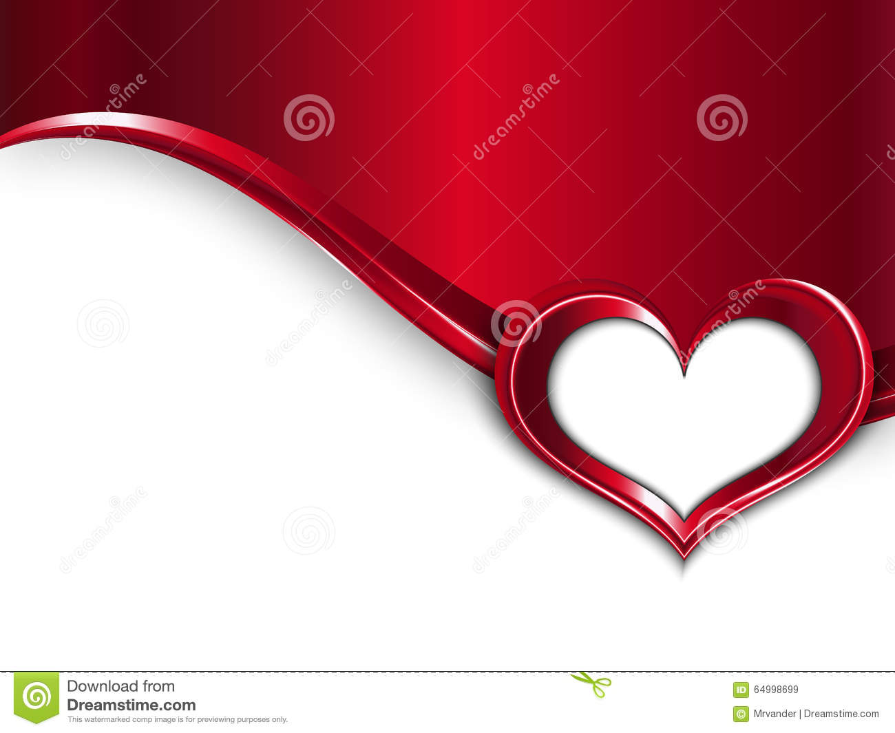 Valentines Day Design. Vector Metal Background With Wave And Frame ...