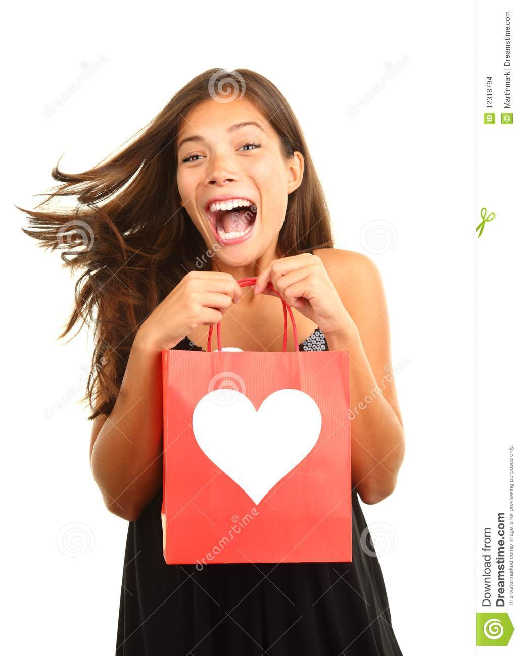 Download Valentines day gift stock photo. Image of flirt, cute - 12318794