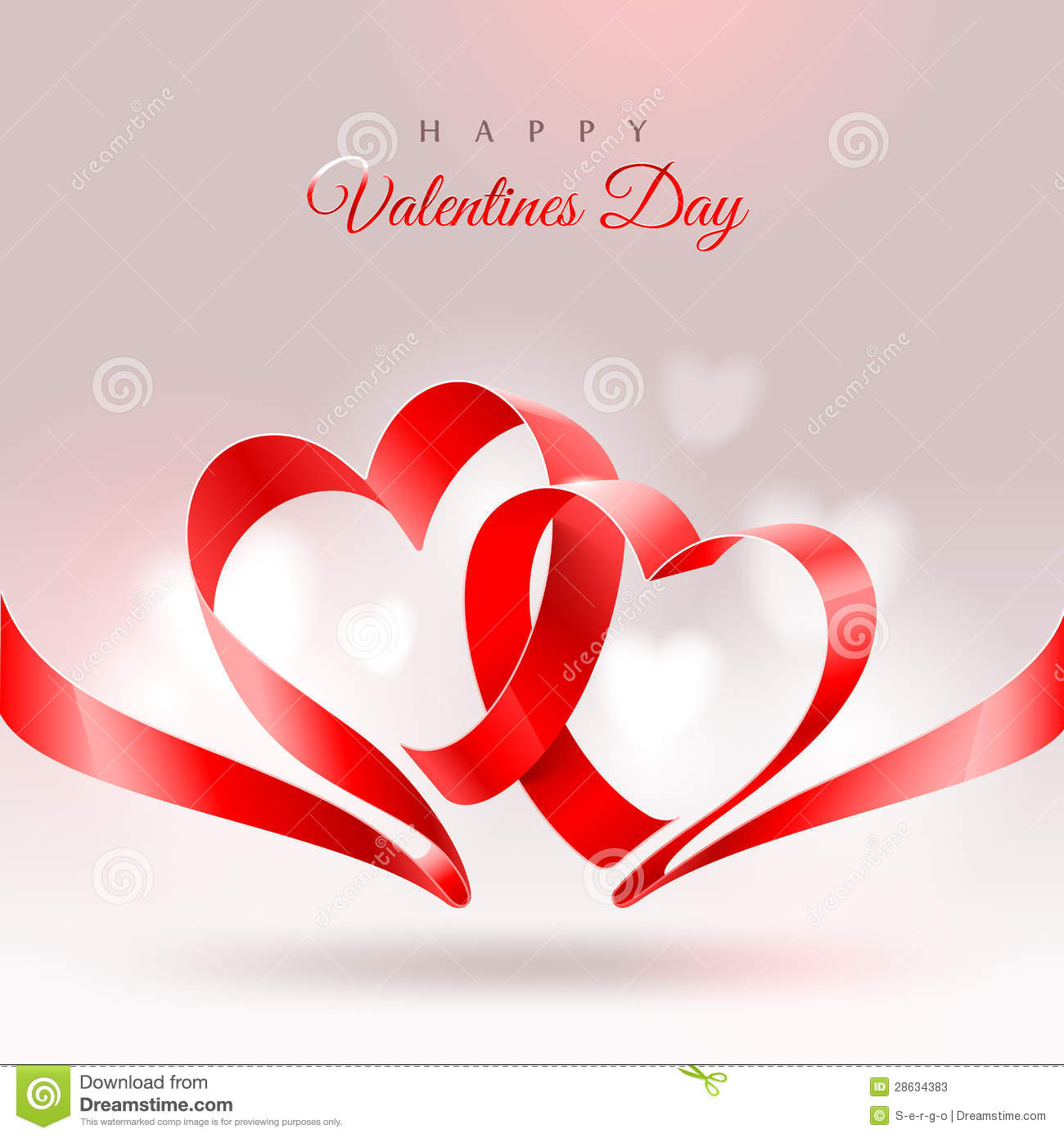 valentines day greeting card stock vector illustration of amour