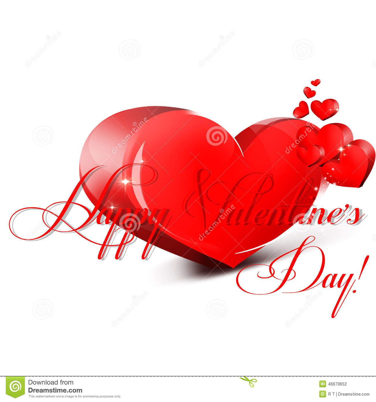 Valentines Day Stock Illustration - Image: 46679652