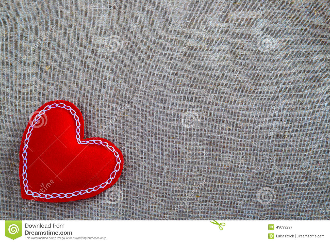 Valentines day heart stock image image of decoration for Red space fabric