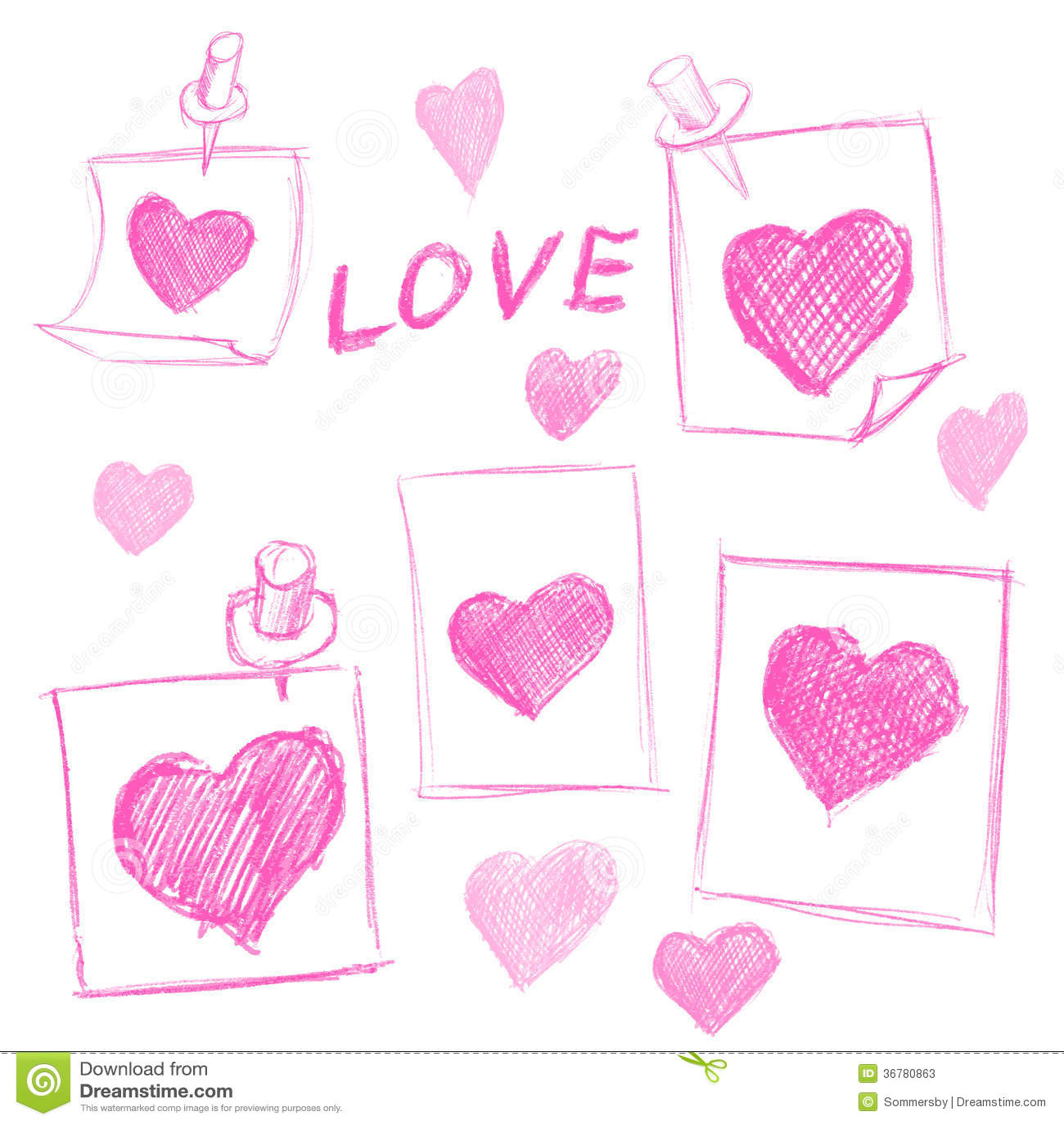 valentines love notes