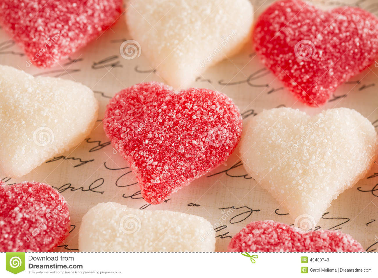 valentines day sugar gummy candy love hearts stock image - image of