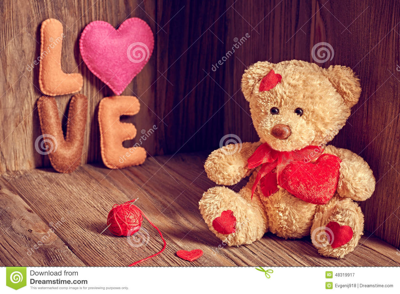 Image of teddy bear with love impremedia alone bear cute day handmade love red retro romantic teddy voltagebd Image collections