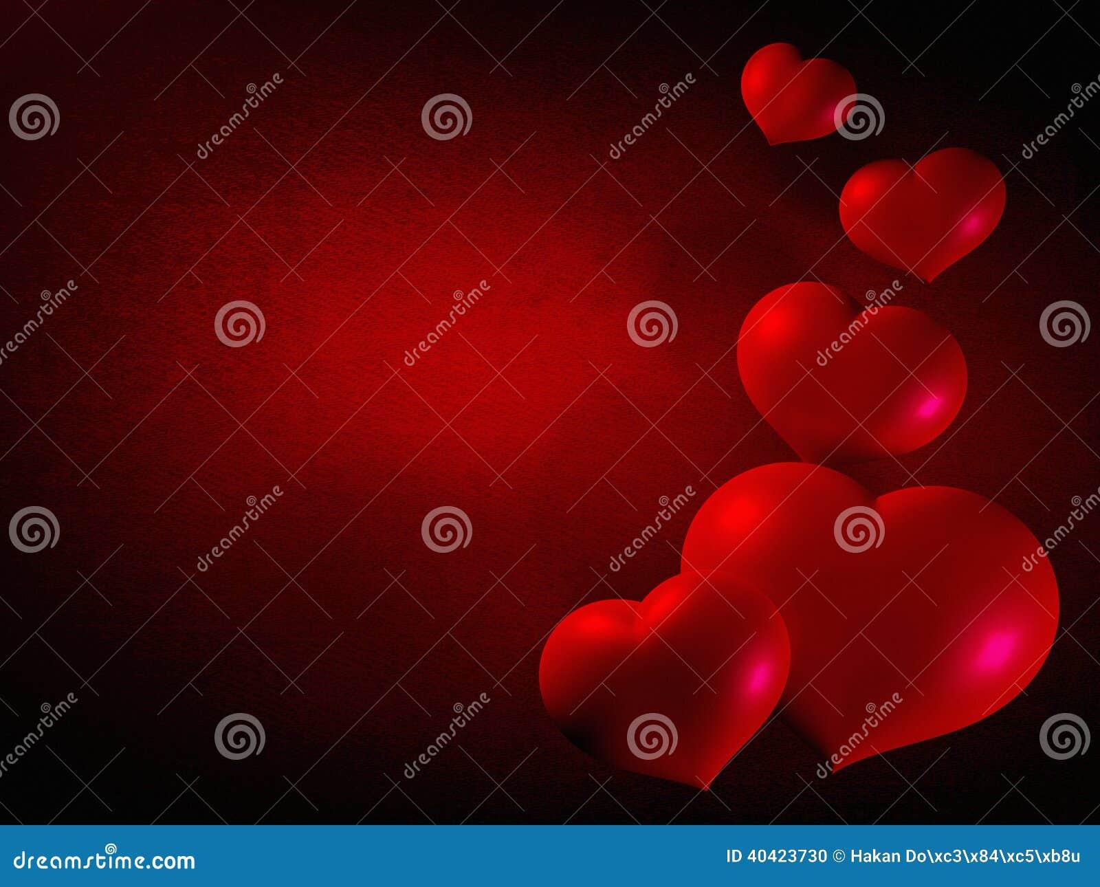 Valentines days hearts