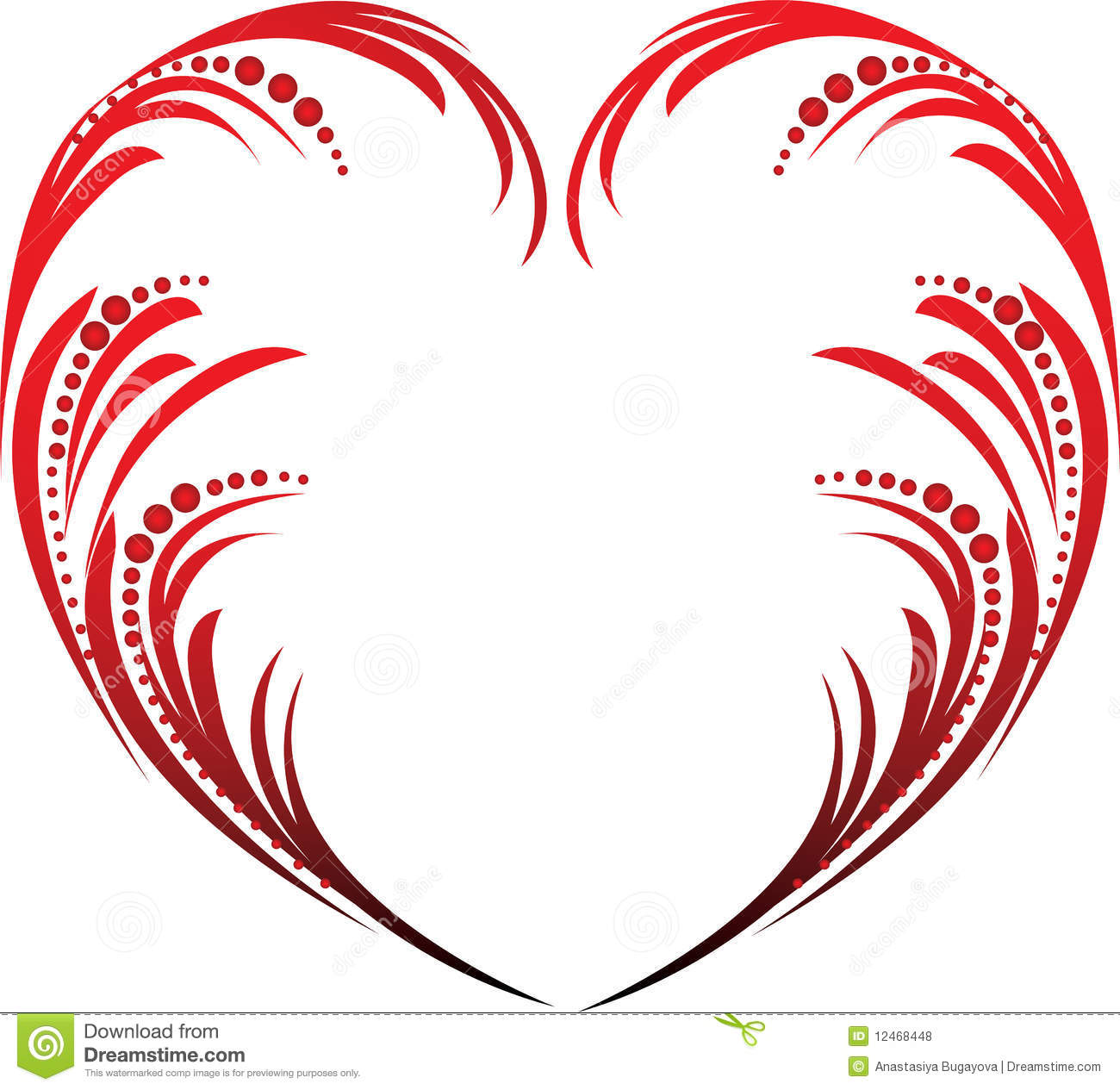 Valentines Heart Royalty Free Stock Photos - Image: 12468448